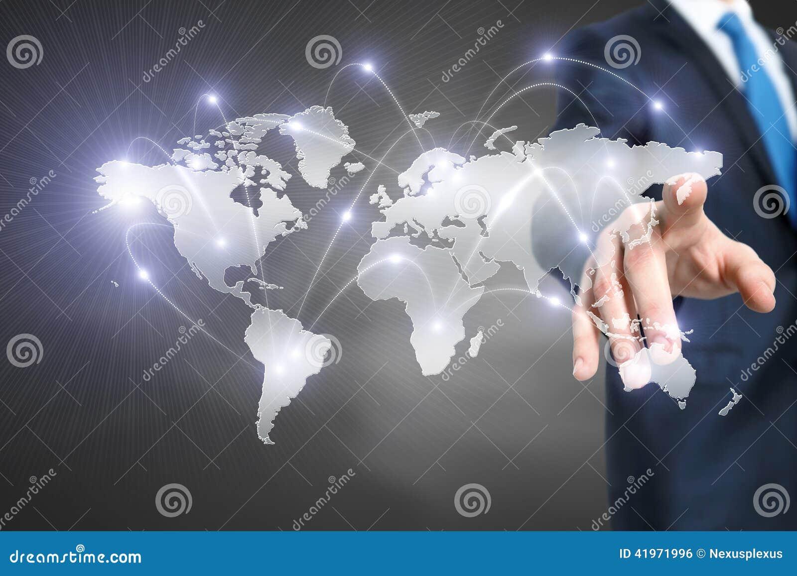 Media globalisering