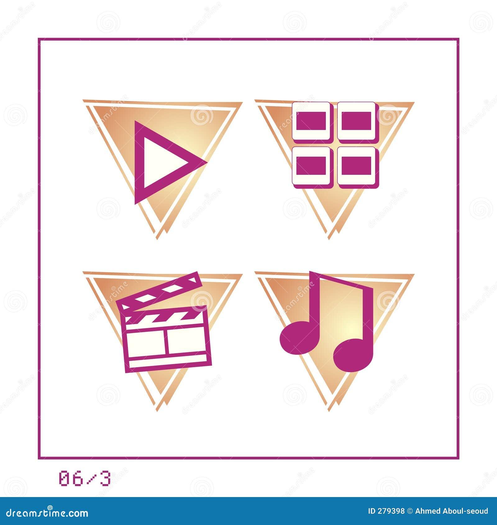 MEDIA: Het pictogram plaatste 06 - Versie 3