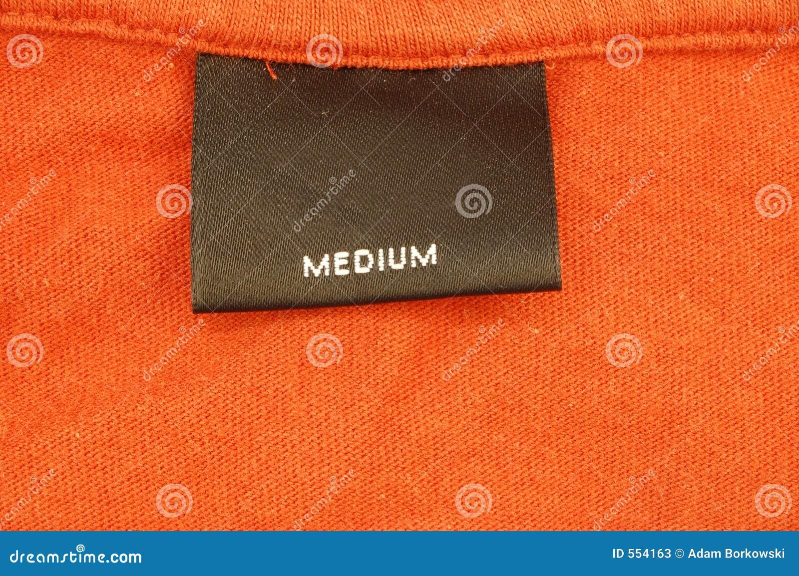 Media (L) camisa 2 do tamanho