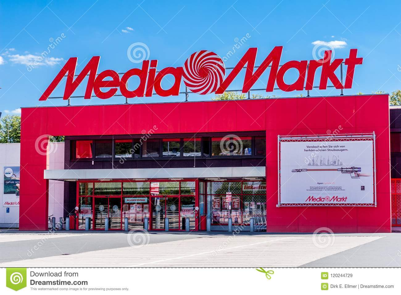 Media Markt Bayreuth Germany Editorial Stock Image - Image