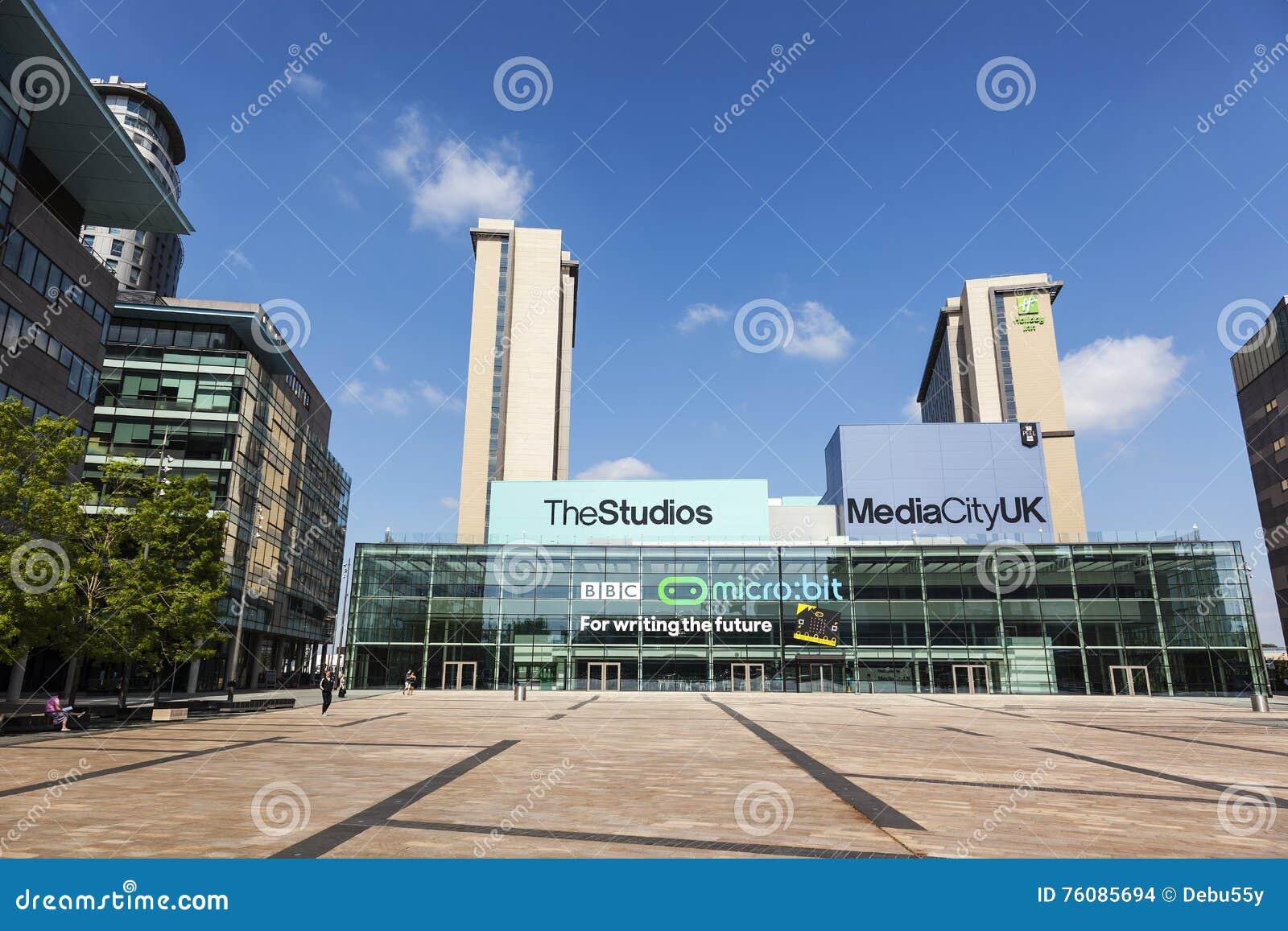 MediaCityUK, la maison neuve pour la BBC