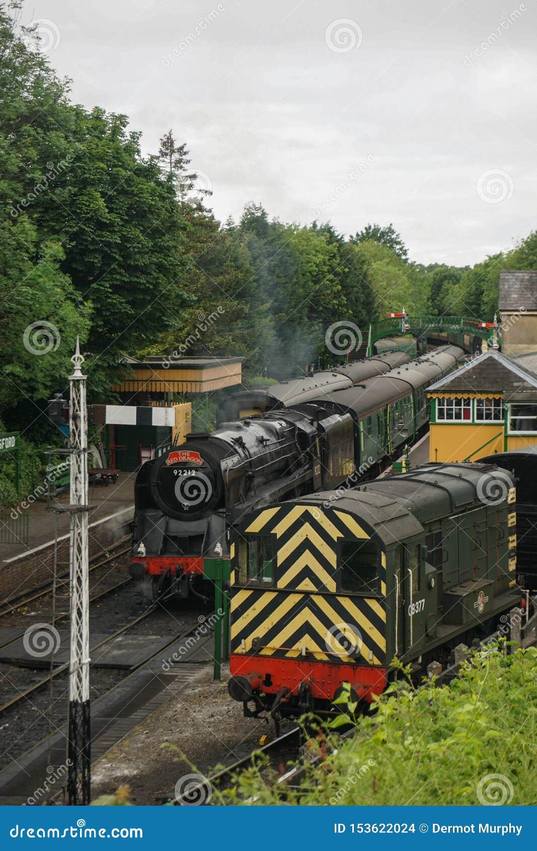 Mediados de ferrocarril del vapor de Hants