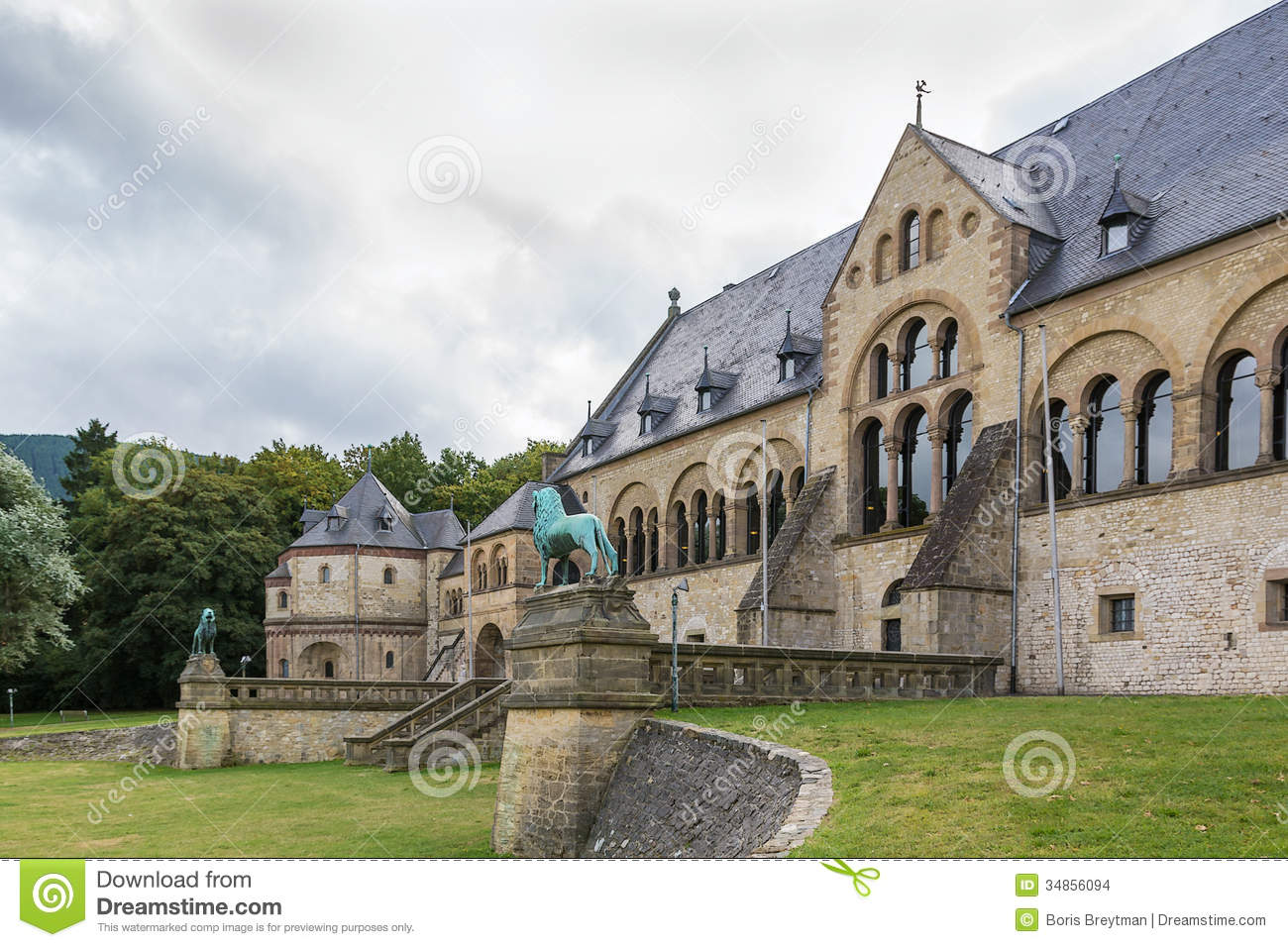 Goslar Germany  city pictures gallery : Mediaeval Imperial Palace In Goslar, Germany Stock Images Image ...