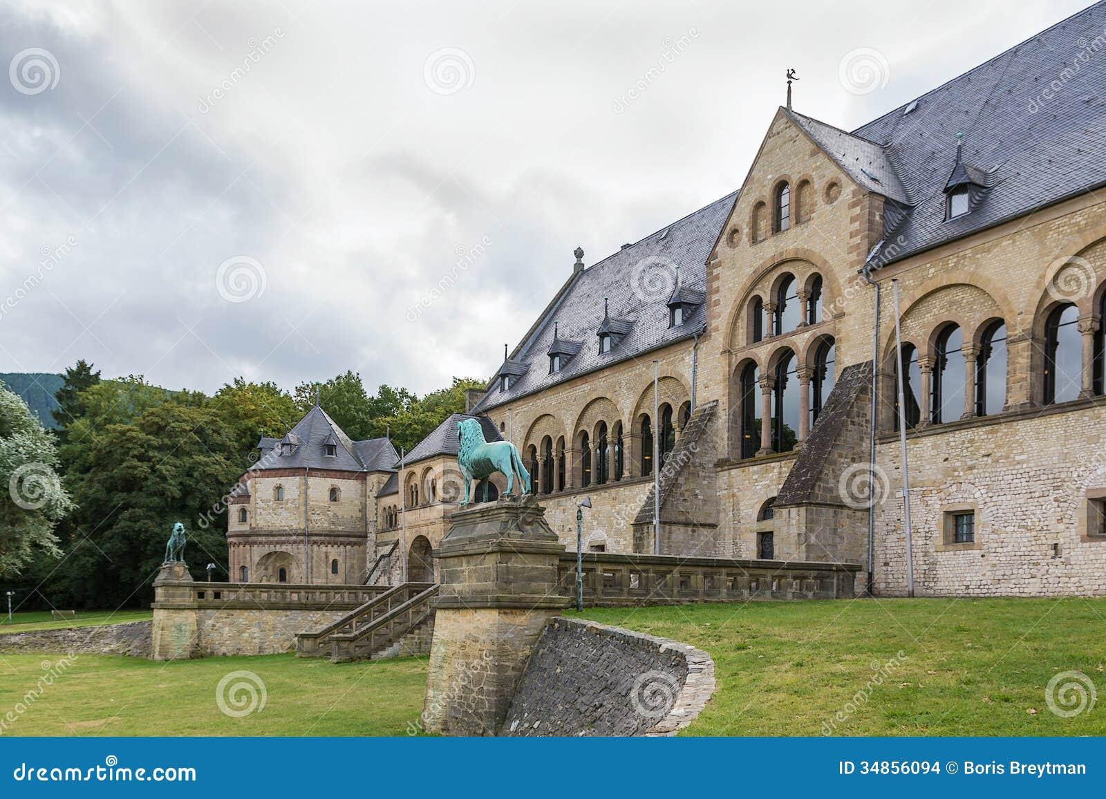 Goslar Germany  city photos : Mediaeval Imperial Palace In Goslar, Germany Stock Images Image ...