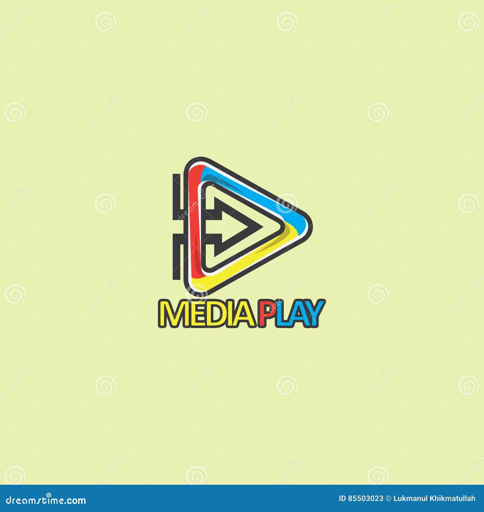 Medialny sztuka biznesu logo