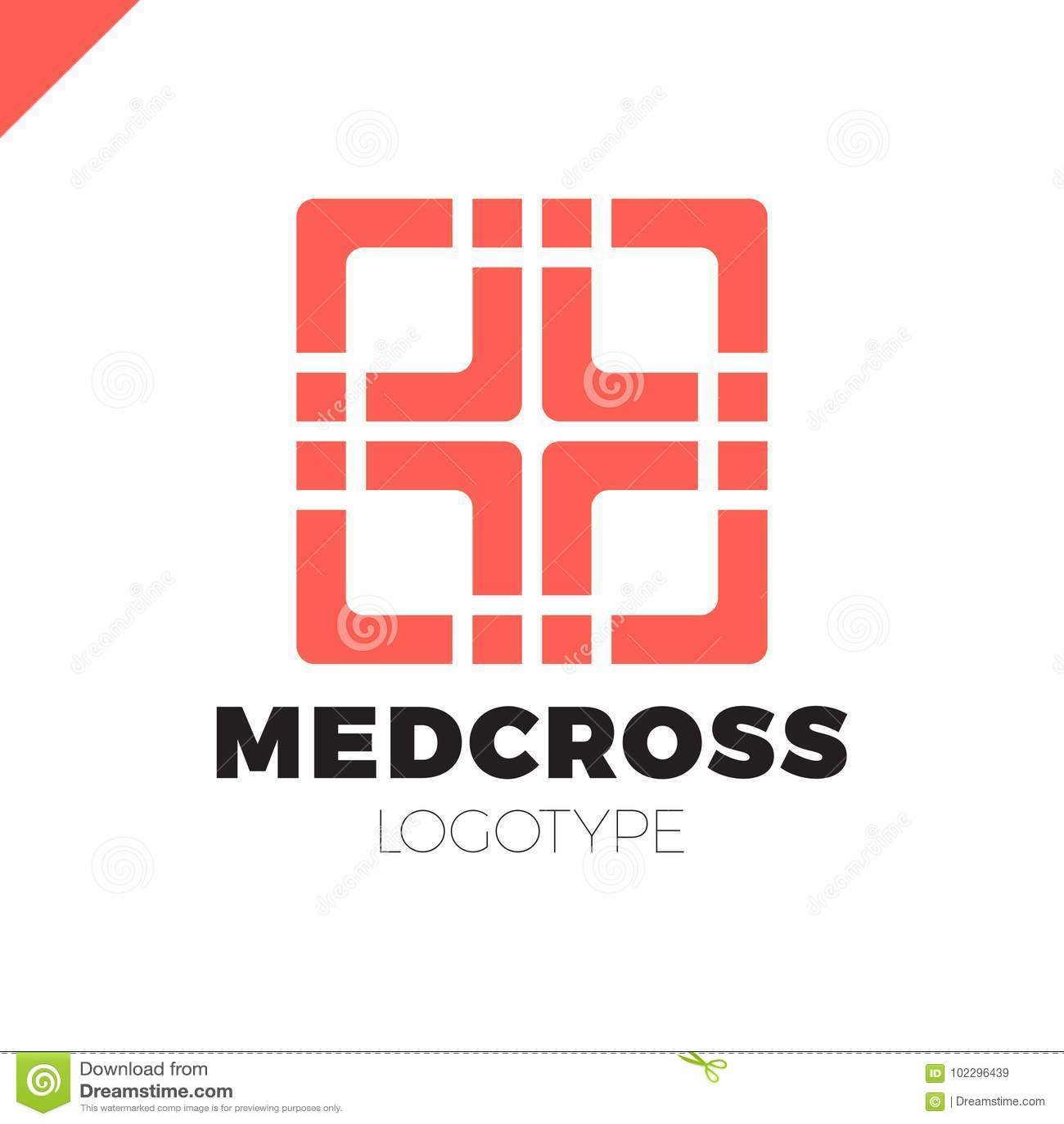 medic cross icon pharmacy logo template corporate identity