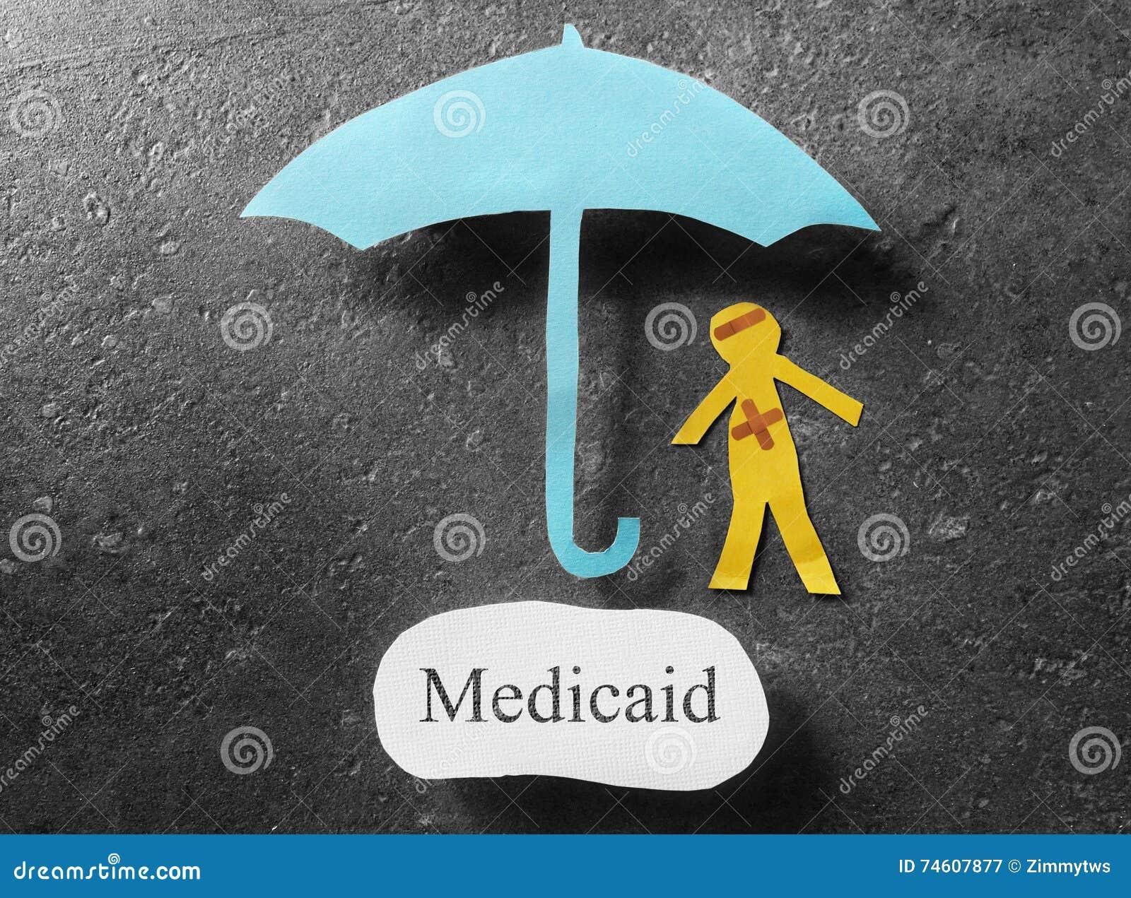 Medicaid-gezondheidszorgconcept