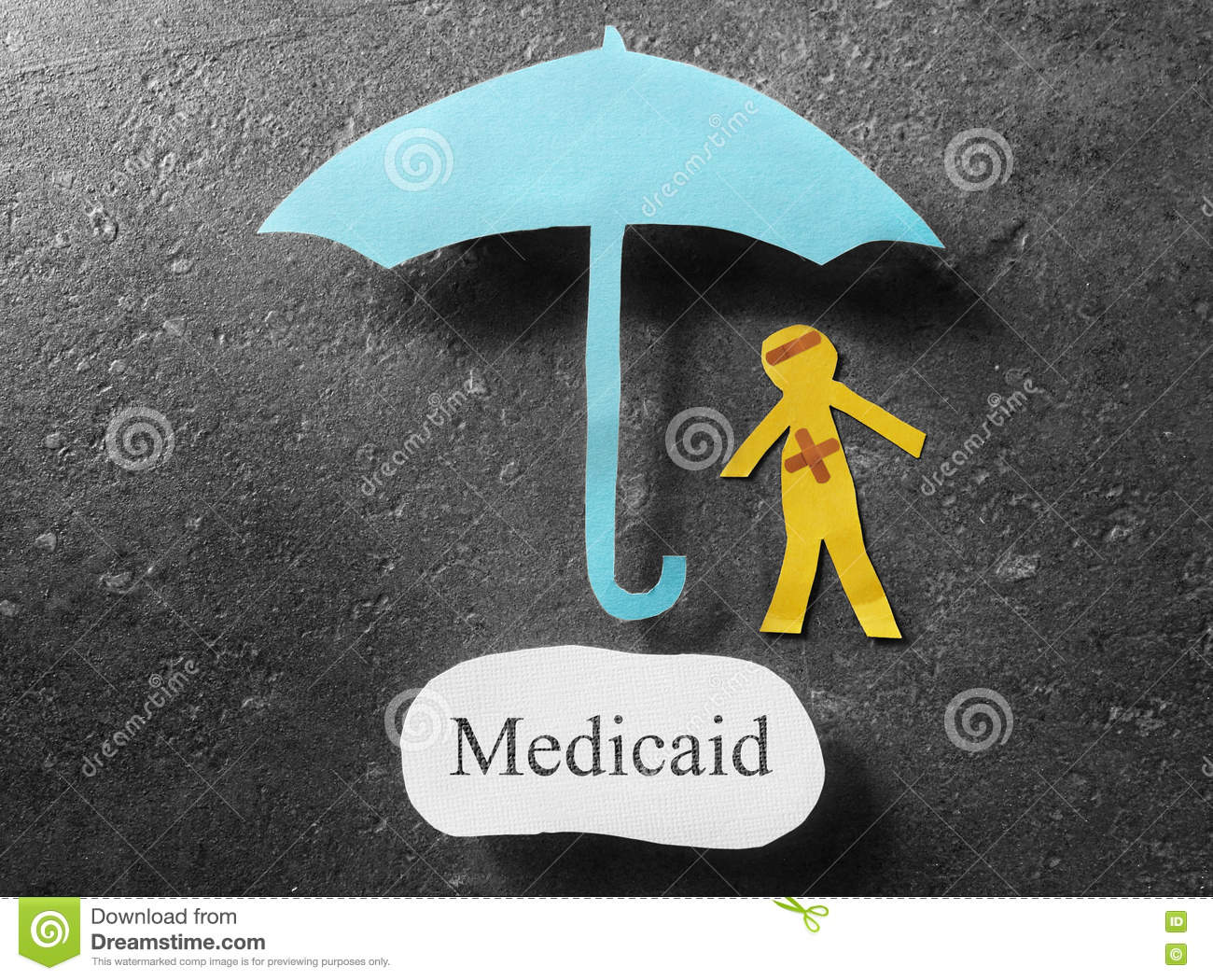 Medicaid healthcare concept