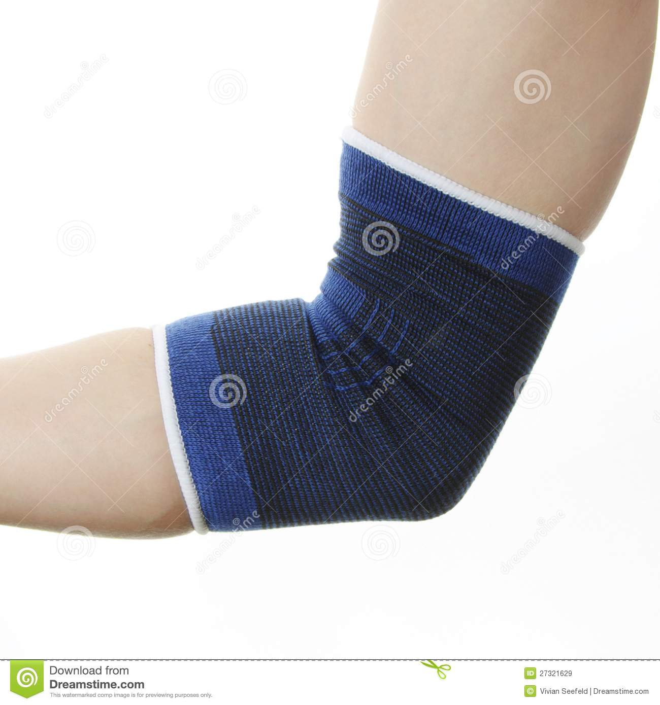 Shattered Elbow Recovery Time http://www.dreamstime.com/royalty-free-stock-images-medical-bandage-injury-elbow-image27321629