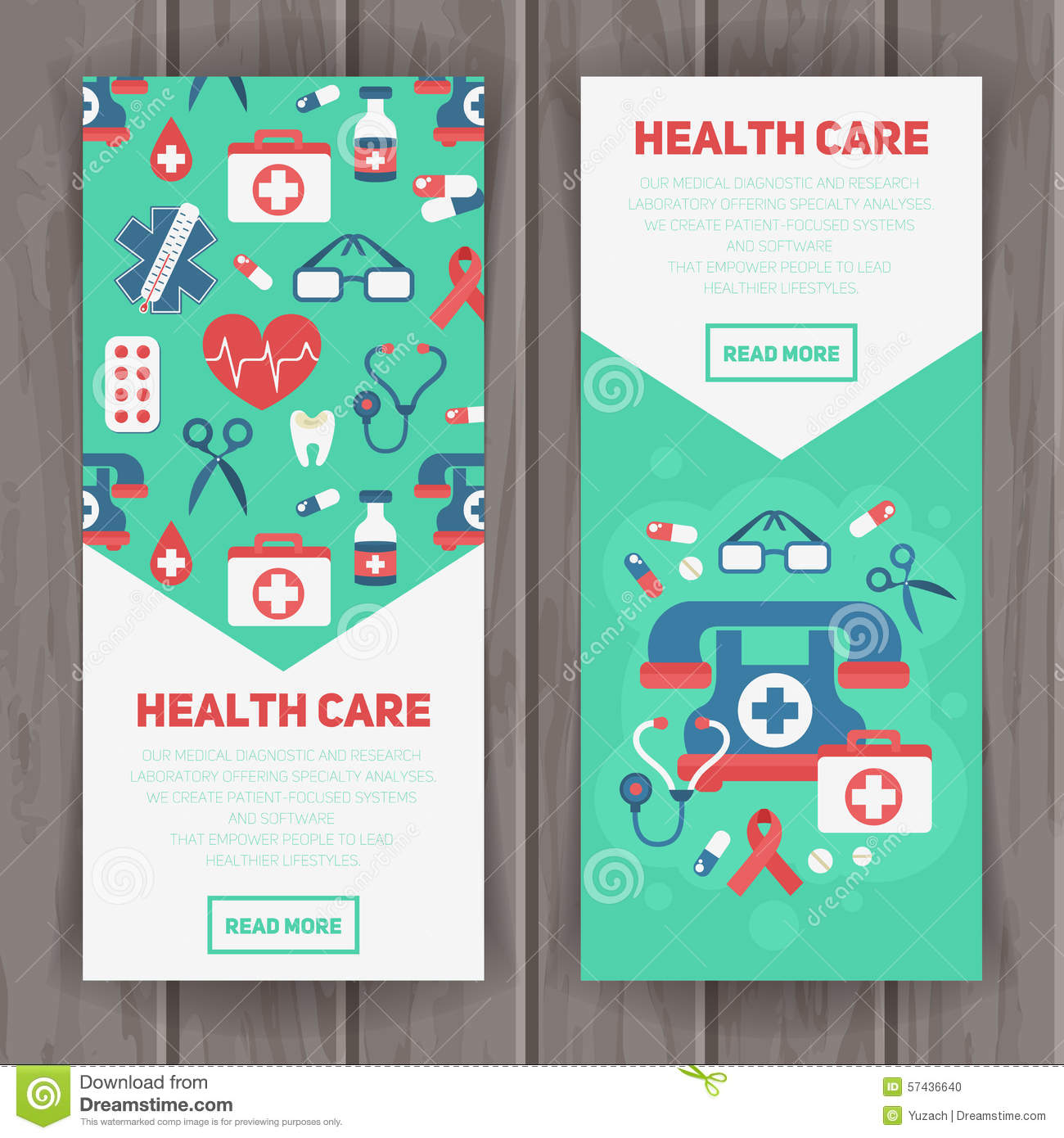 Doctor Consultation Banners Medical Industry Banners