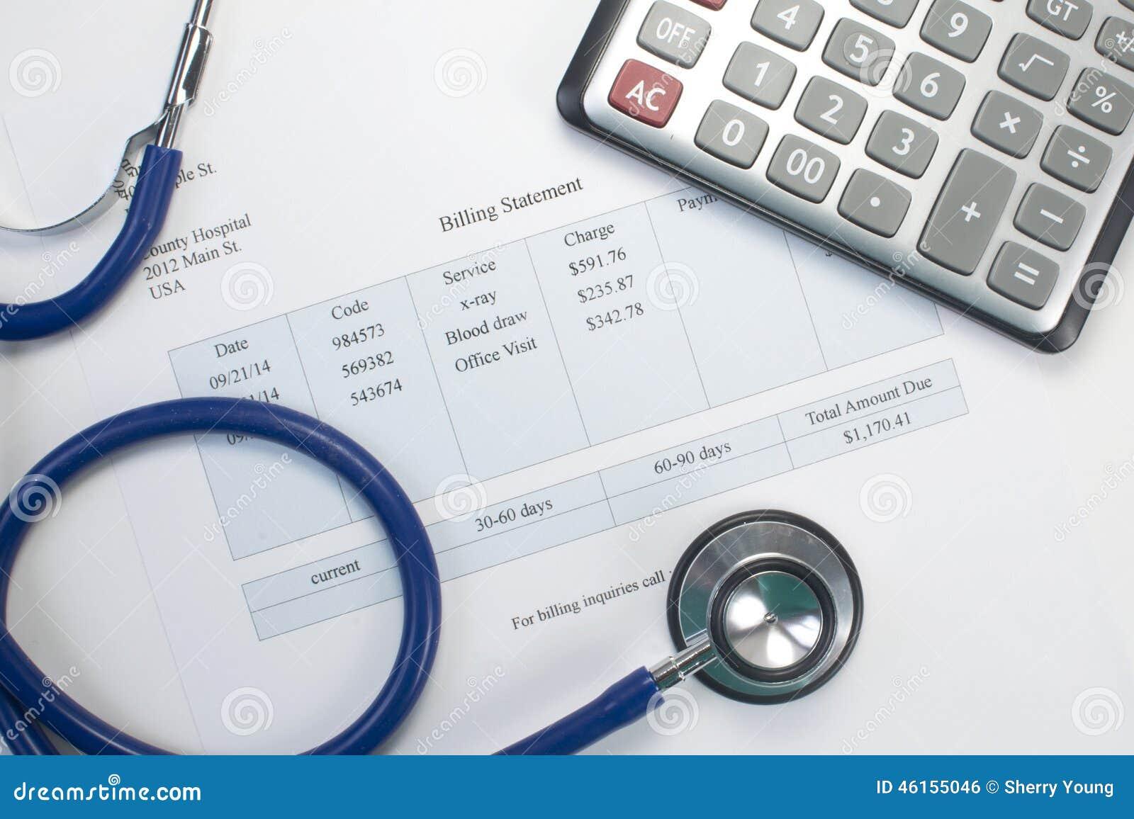 Medical Bill Stock Photo Image Of Insurance Check Billing 46155046