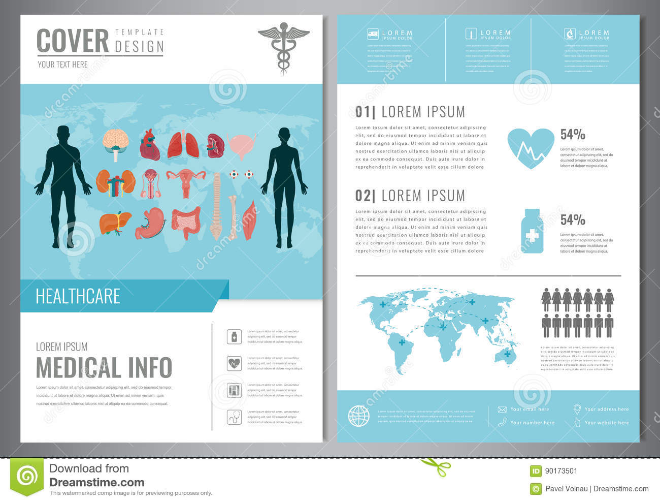 medical brochures templates - medical brochure design template healthcare and medical