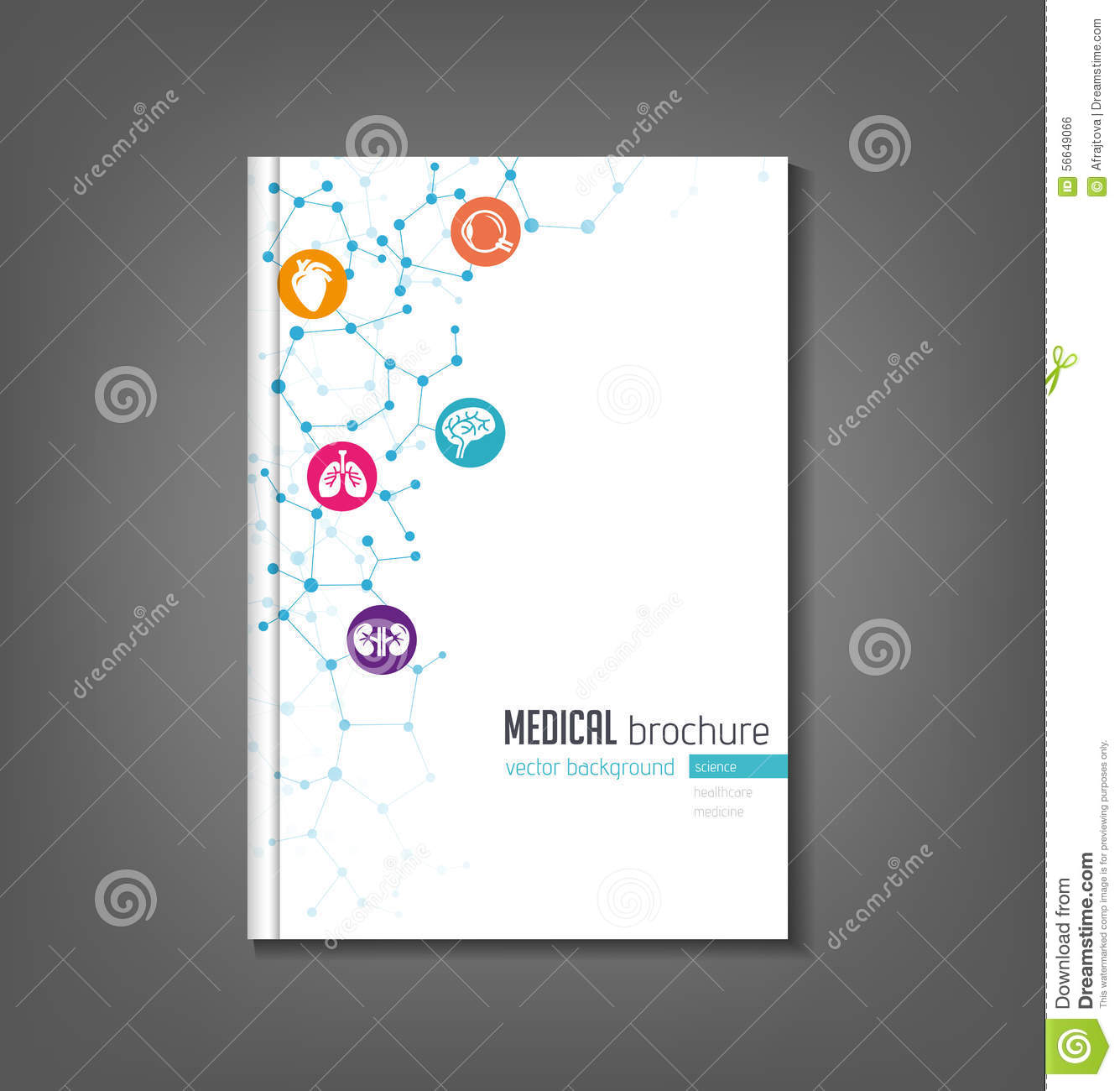 Medical Brochure Template Vector Image 56649066 – Medical Brochure Template