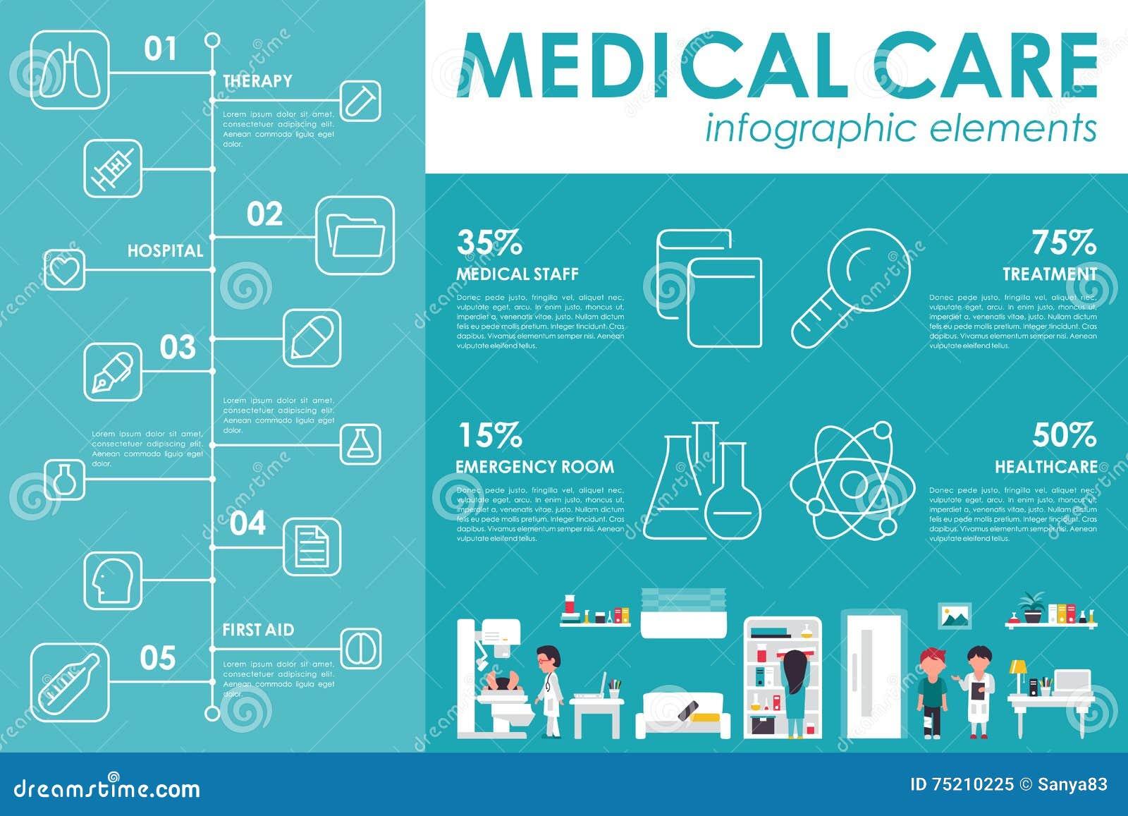 medical-care-concept-hospital-infographi