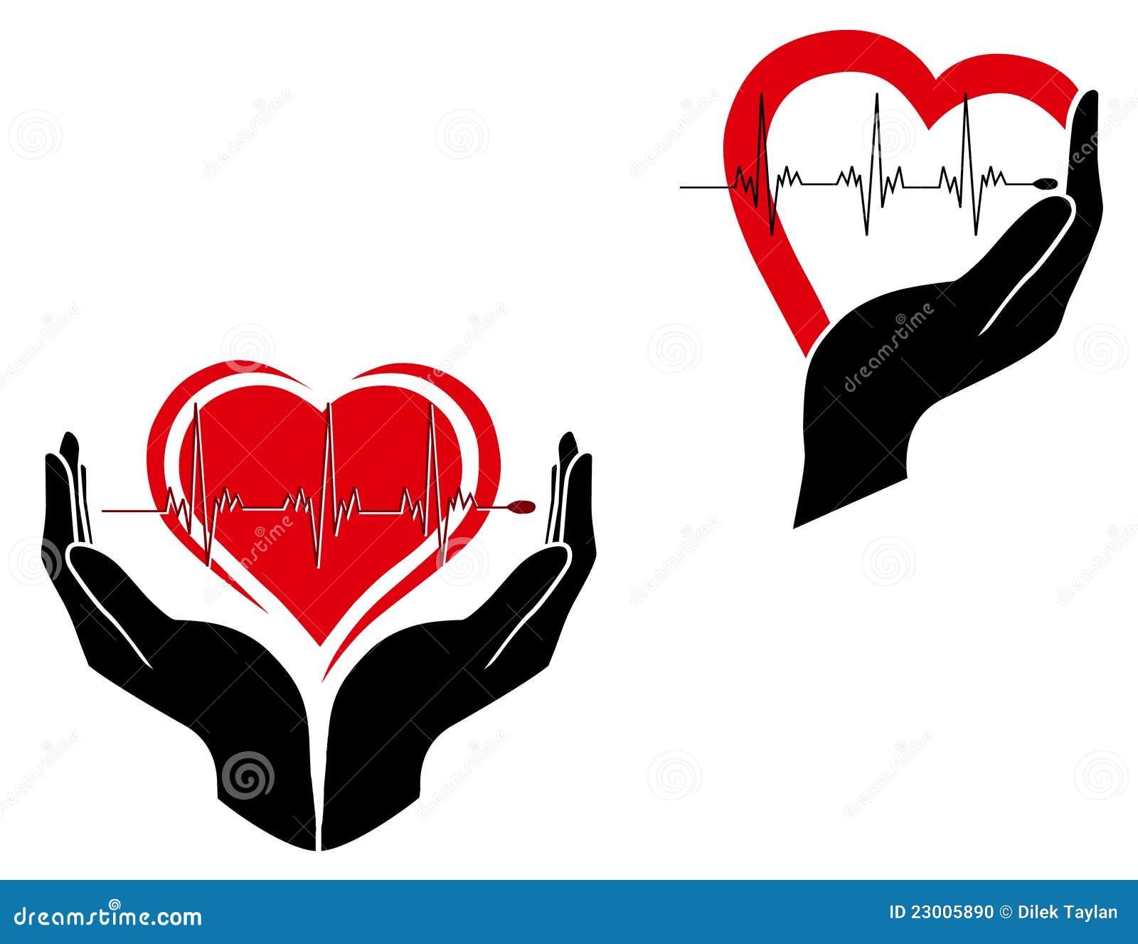 illustration of medical care symbols. Nursing Symbol Design
