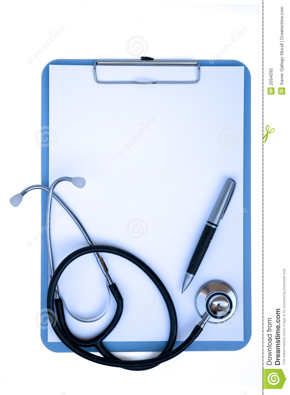 Free Heart Stethoscope Clipart