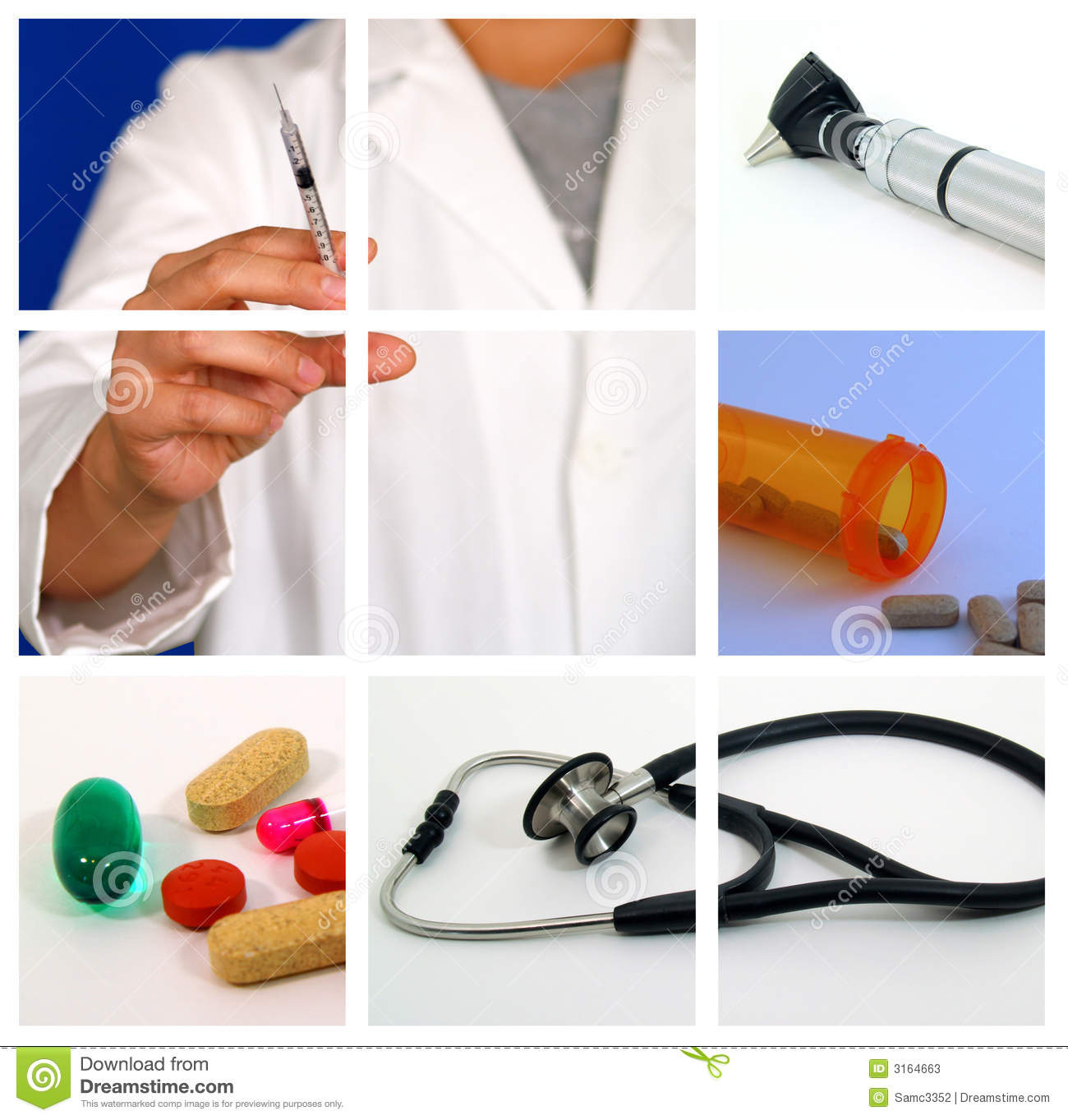 Medical Collage - S