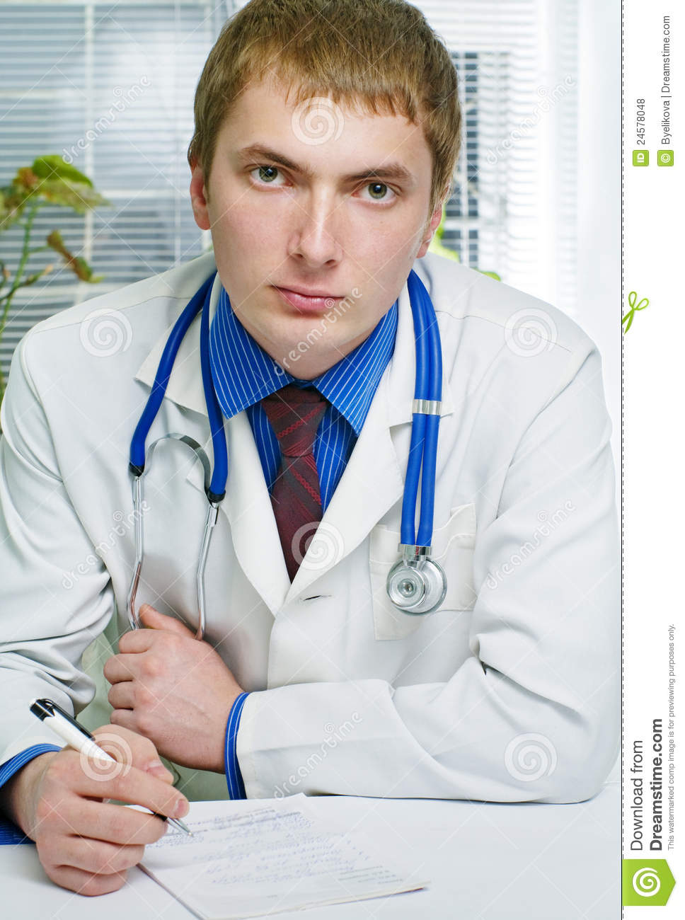 A medical doctor in hospital