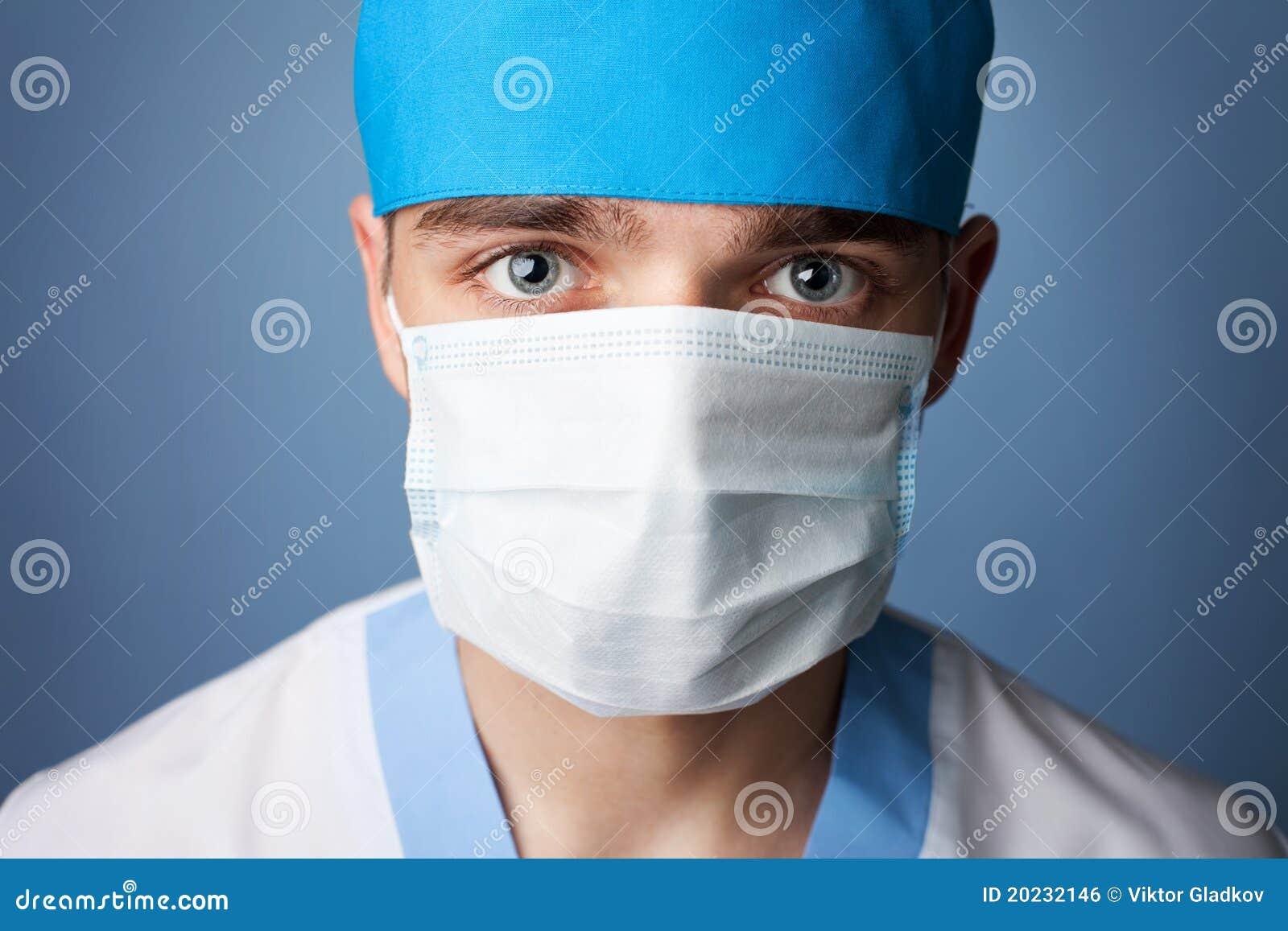 Medical Doctor In Mask...