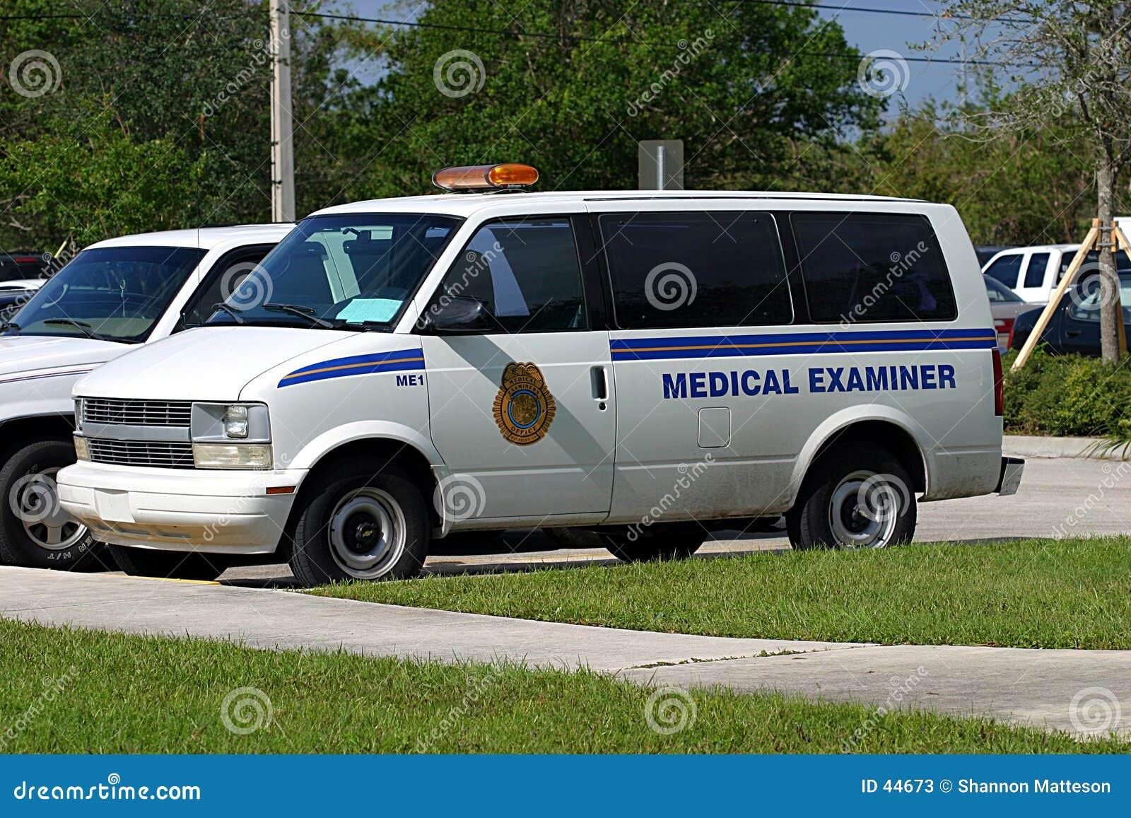 Medical Examiner s Van 1