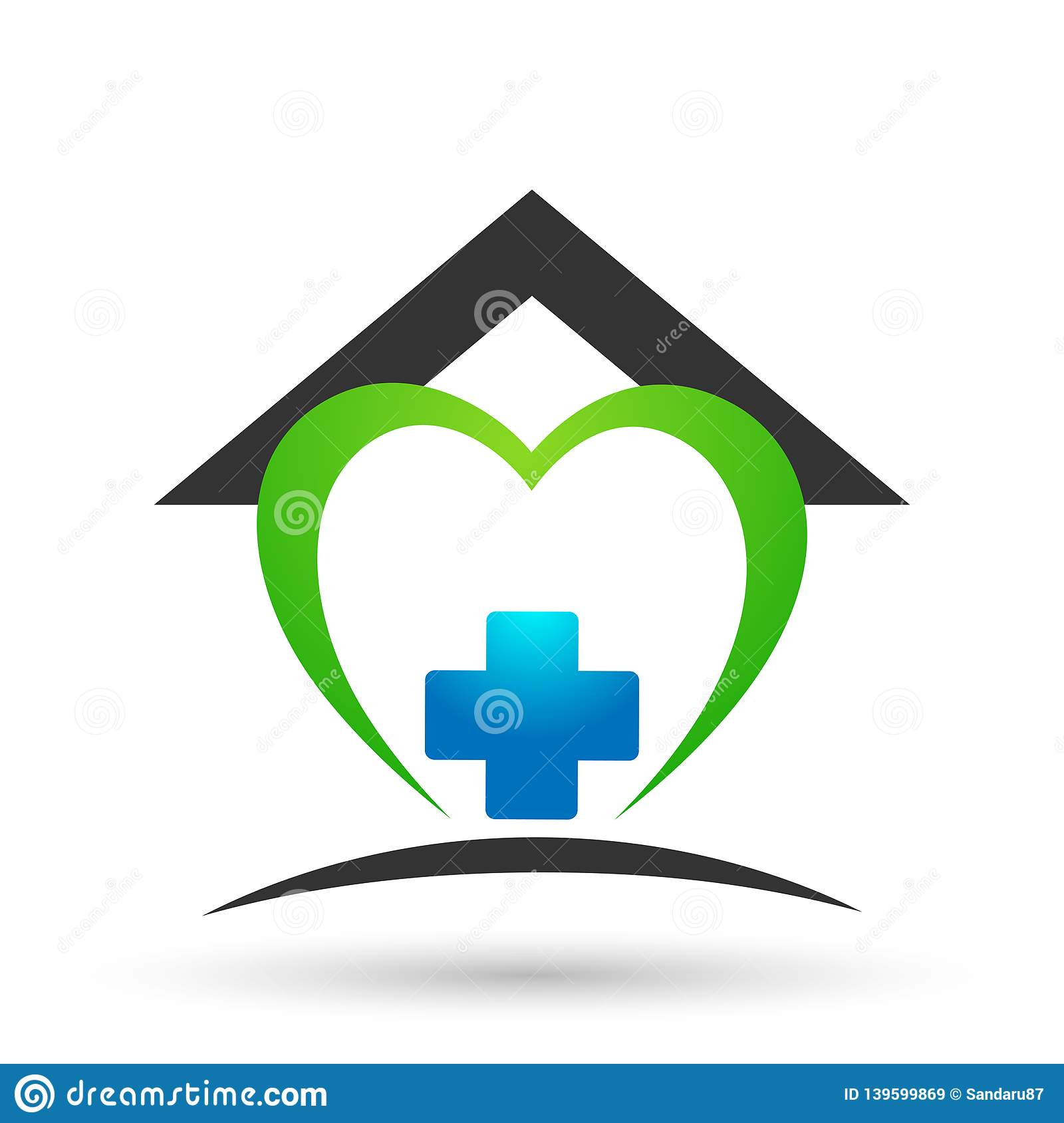 Remarkable Medical Health Care Heart Clinic Home House Cross People Download Free Architecture Designs Scobabritishbridgeorg