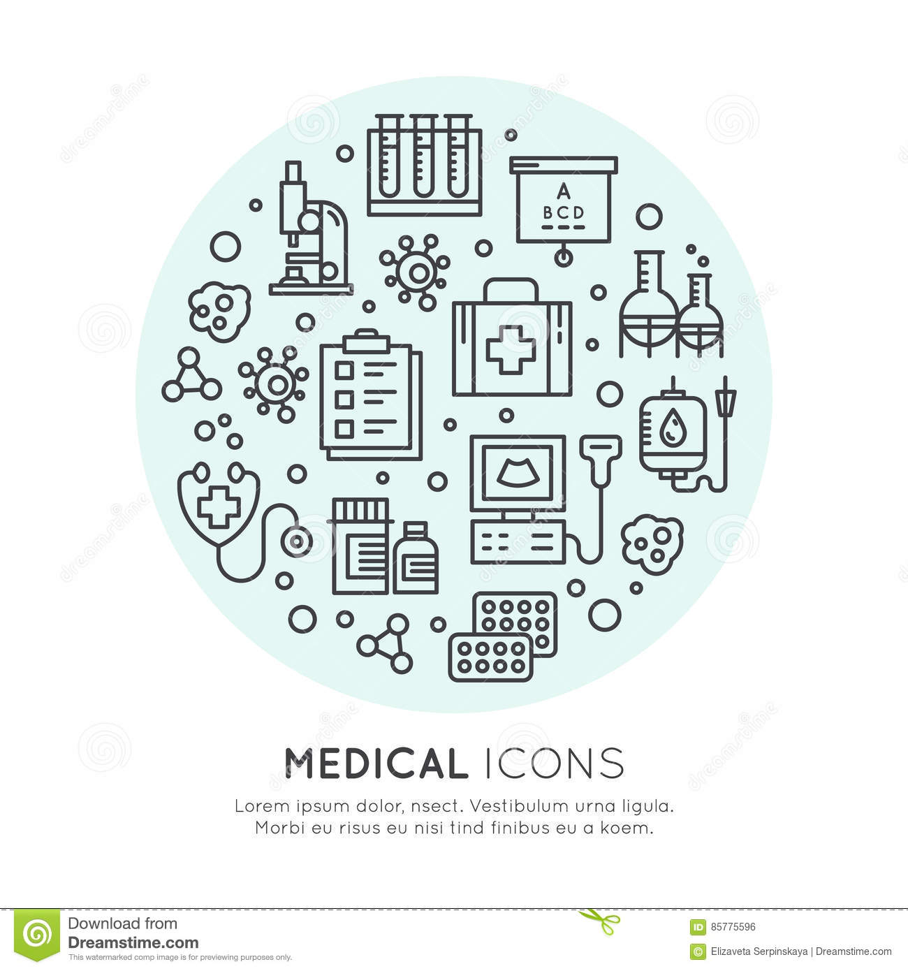 medical and healthcare research items  insurance  mri Medical Sign Caduceus Medical Symbol Vector Editable