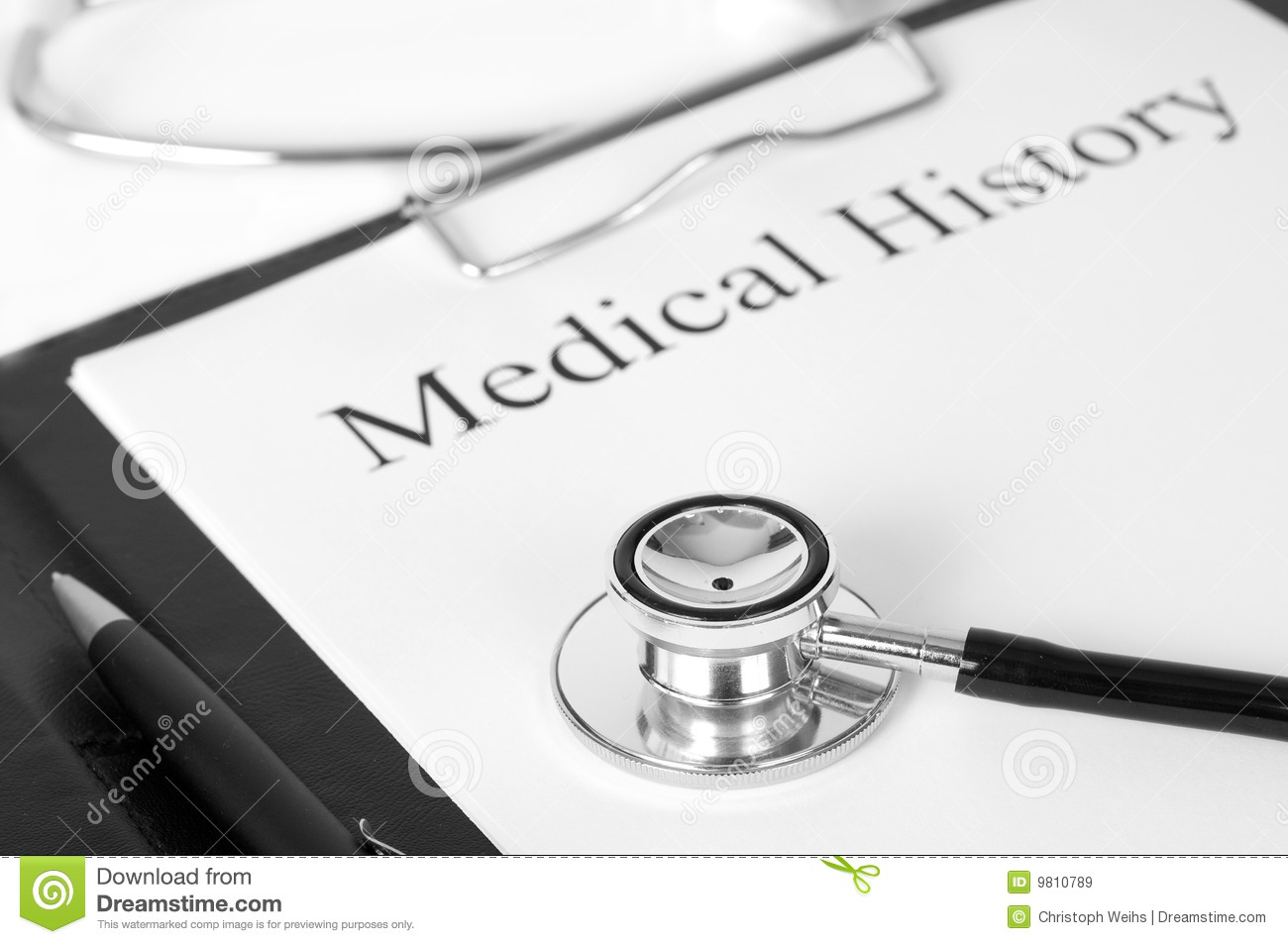 Medical History Royalty Free Stock Images - Image: 9810789