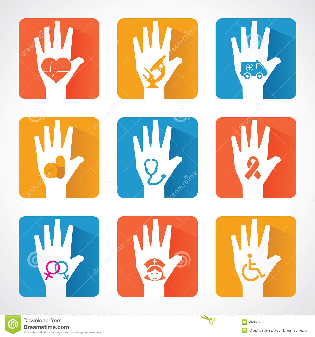 design with helping hand Helping Hand Icon