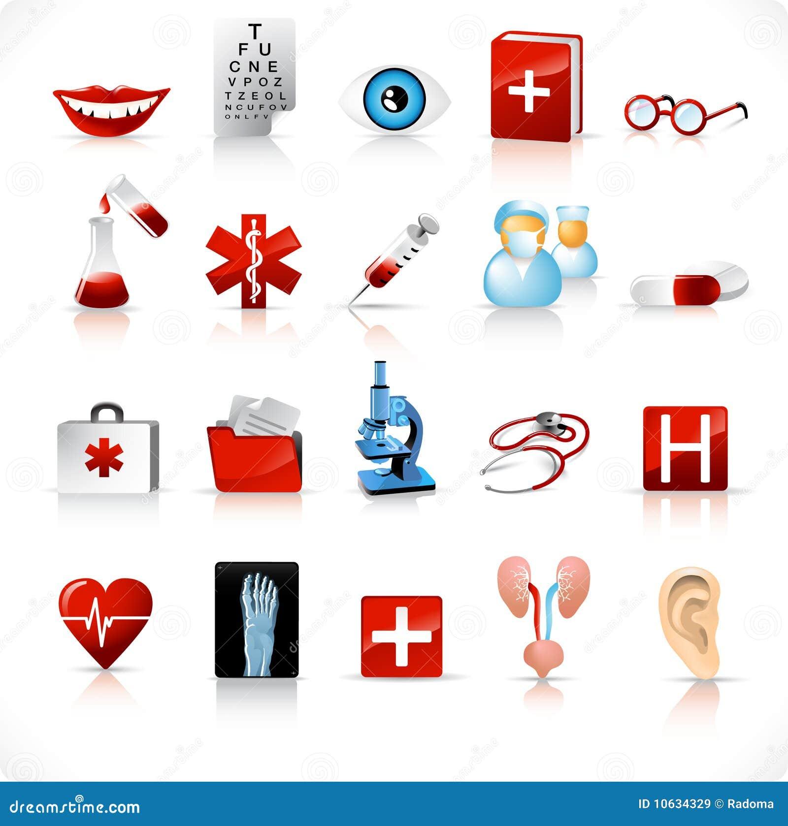 Medical icons / set 2