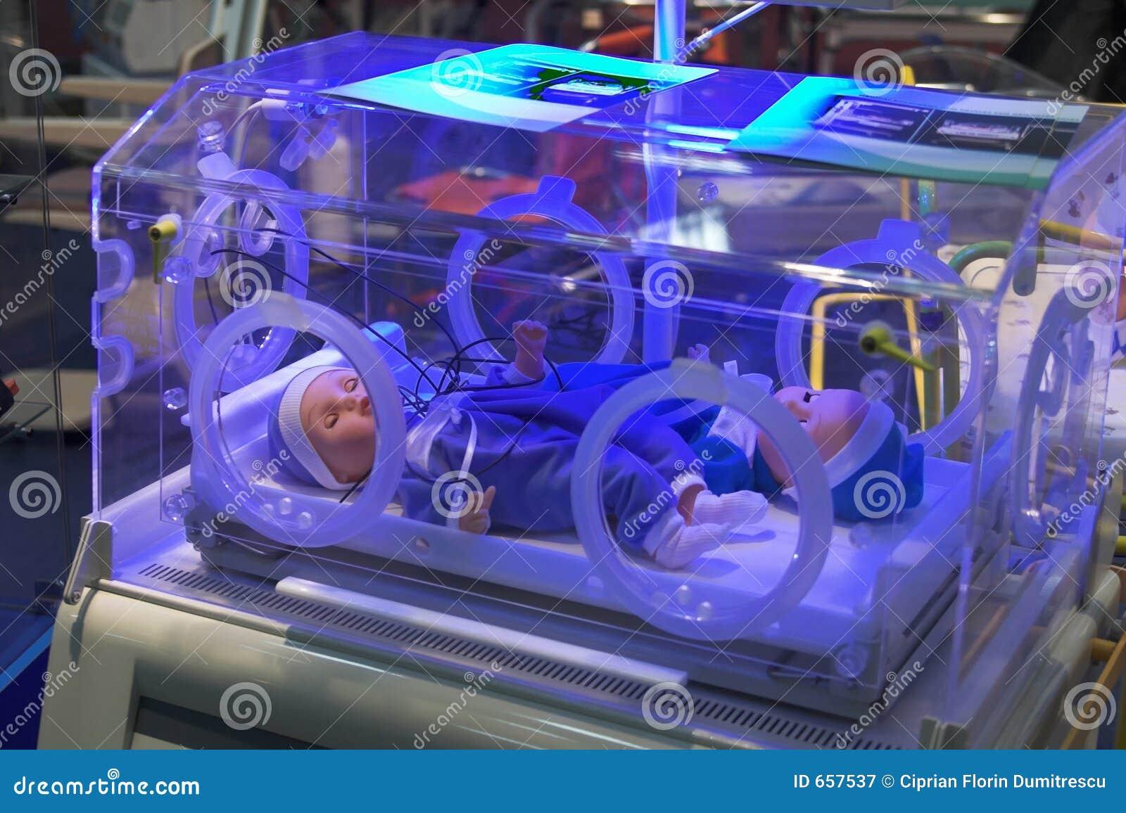 Medical Incubator Royalty Free Stock Photography Image