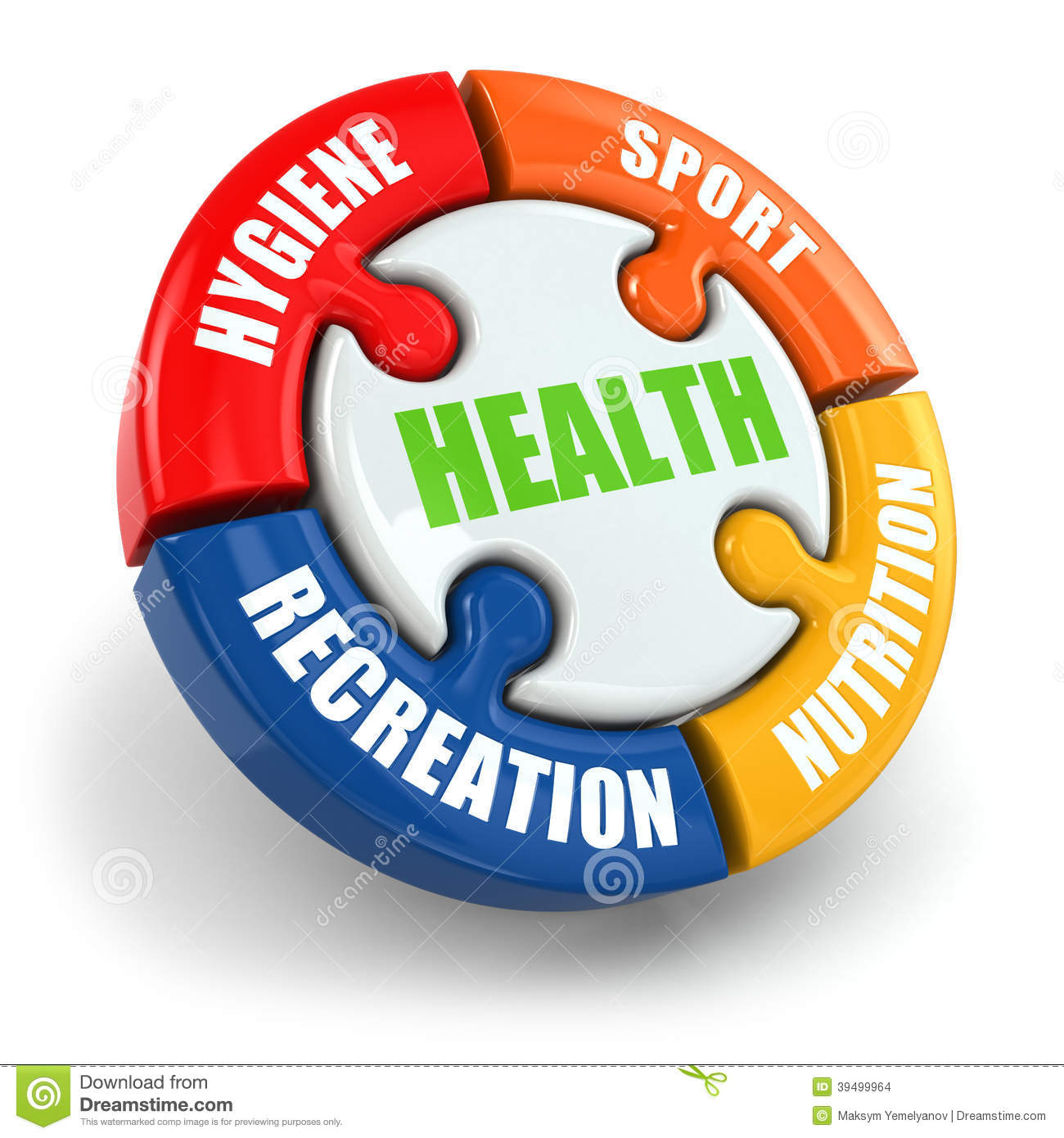 Medical Infographic. Health Is Sport, Hygiene, Nutrition ...