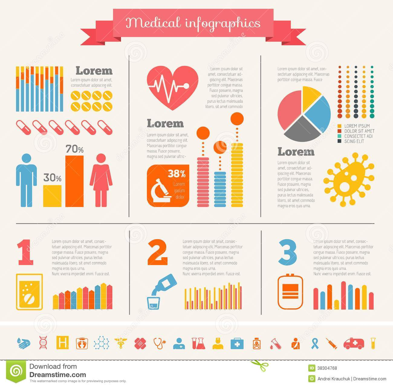 Free Medical Infographic Template