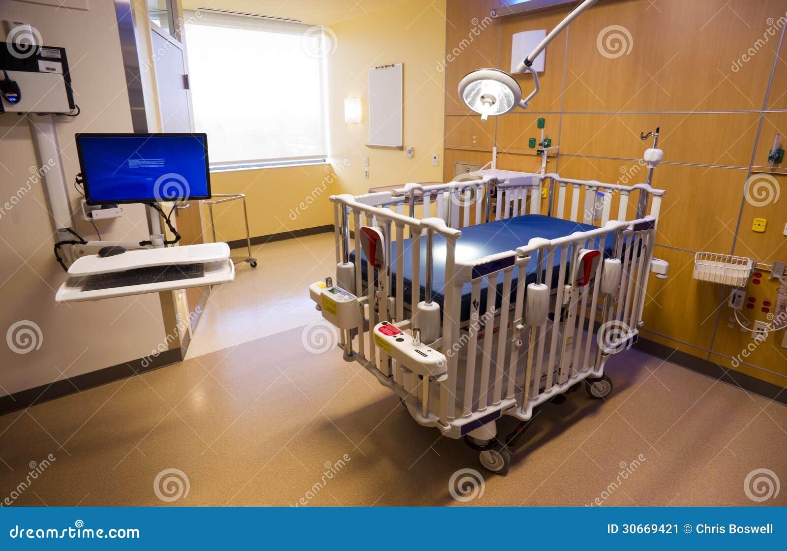 Next Childrens Bedrooms Medical Inspection Light Shines Down Bed Childrens Hospital Room
