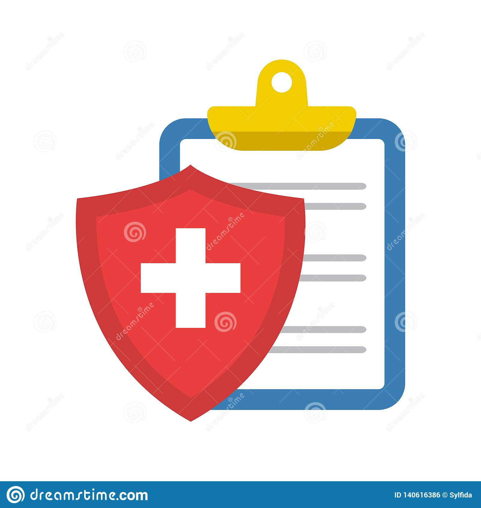 Medical Insurance Icon. Vector Illustration Stock ...