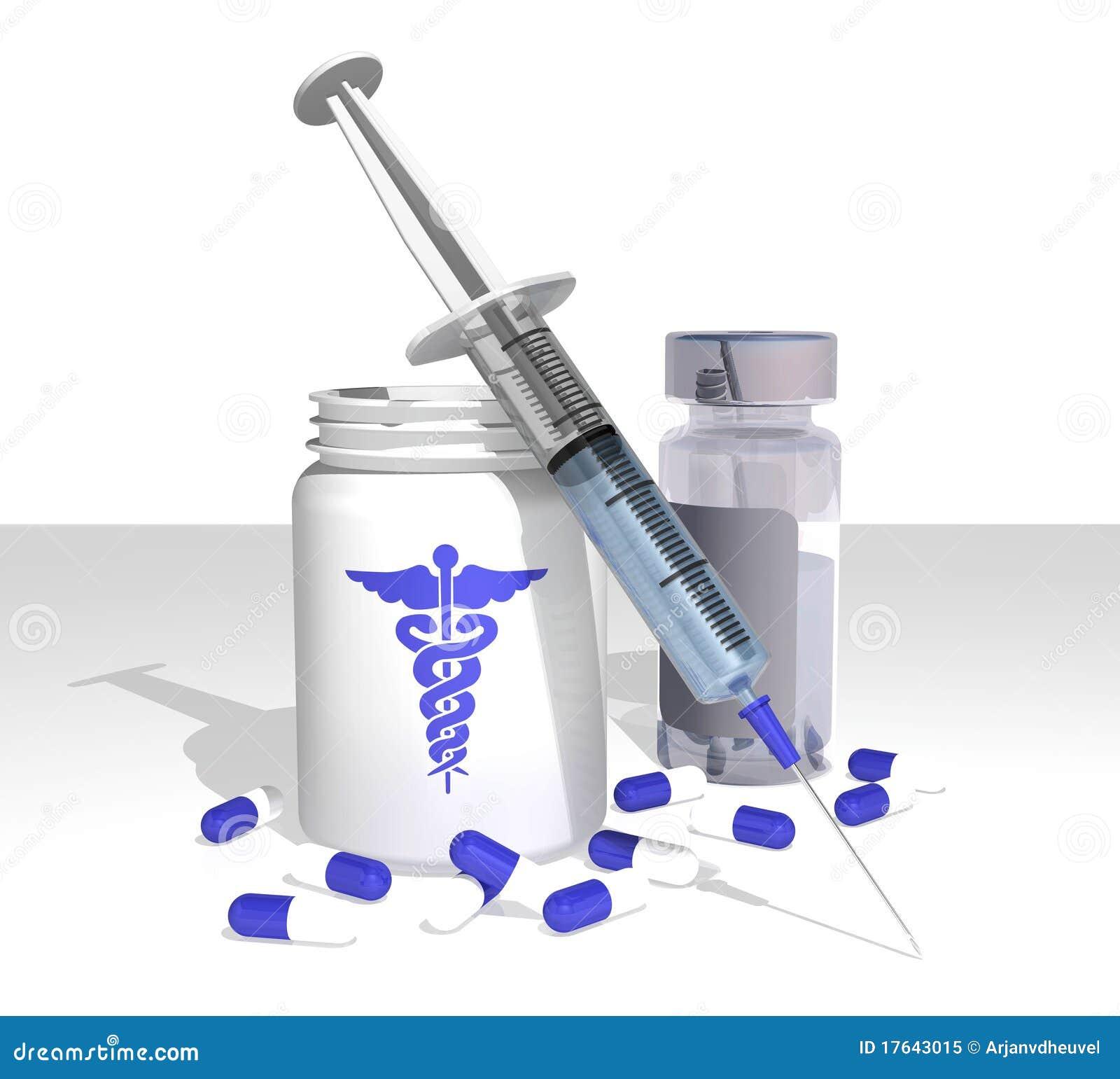 Medical Items Royalty Free Stock Photo - Image: 17643015