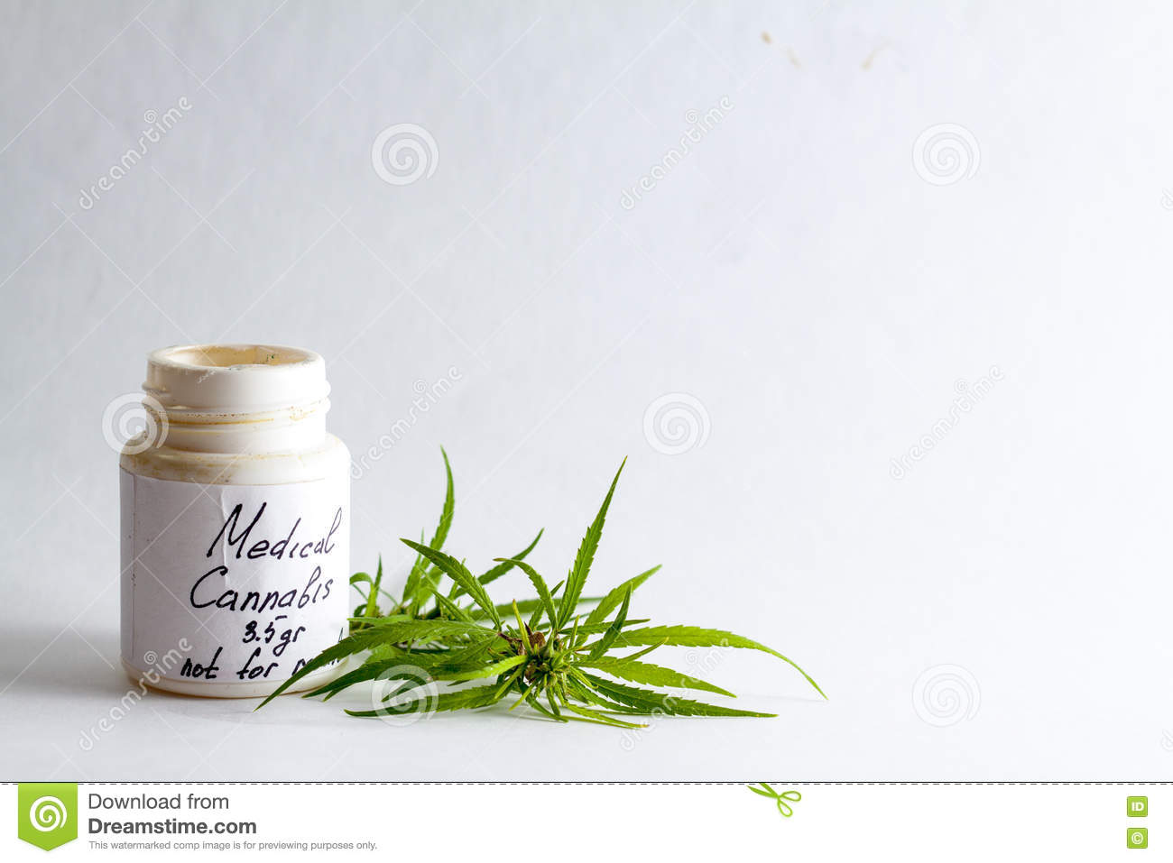 Medical marijuana cannabis for the treatment of a doctor