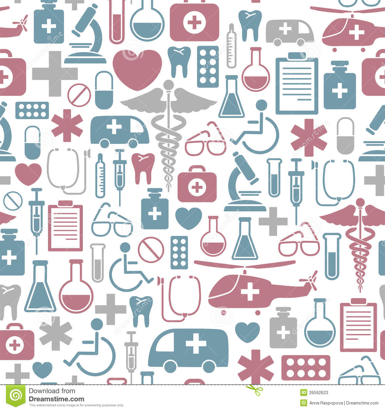 Medical Pattern Stock Photos Image 26592623