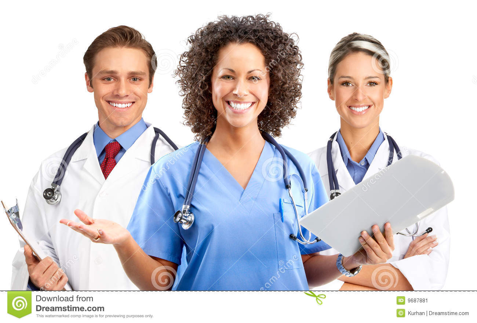 Medical People Stock Image Image 9687881