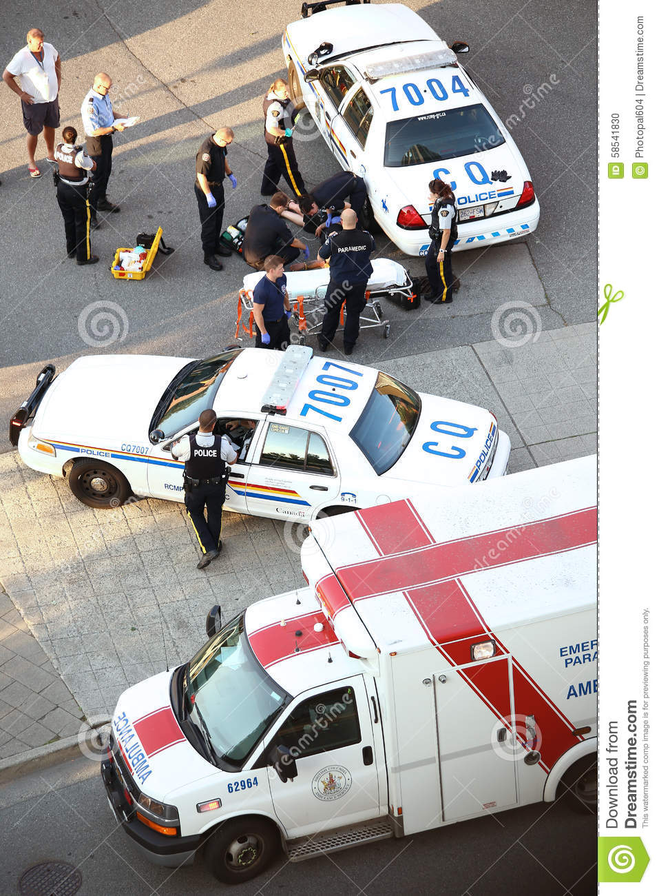 Download Medical People And Police Helping Heart Attack Man Editorial Image - Image of care, hurt: 58541830