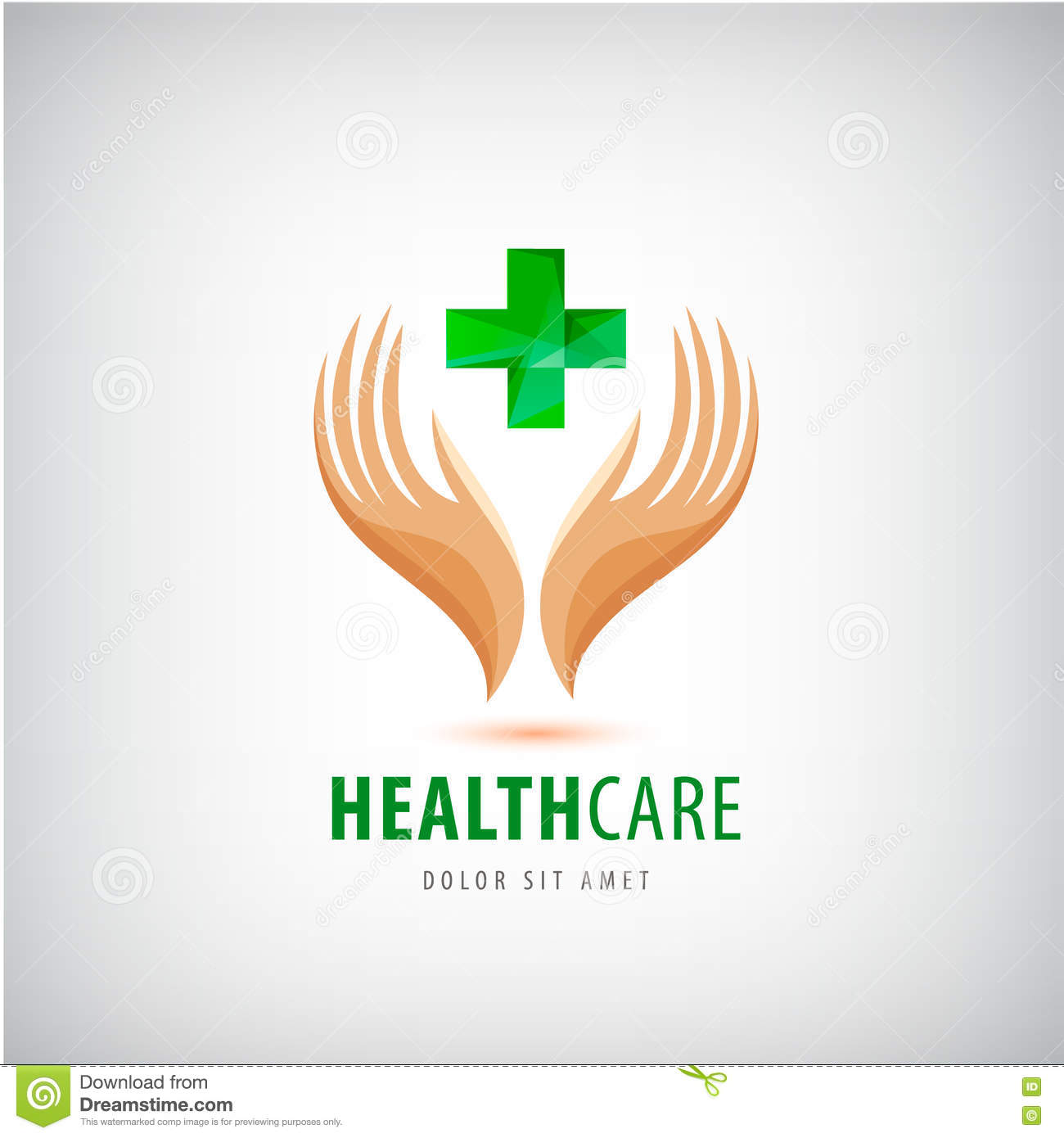 Medical Pharmacy Cross Logo Design Template. Stock Vector ... for Logo Design Samples Free Download  177nar
