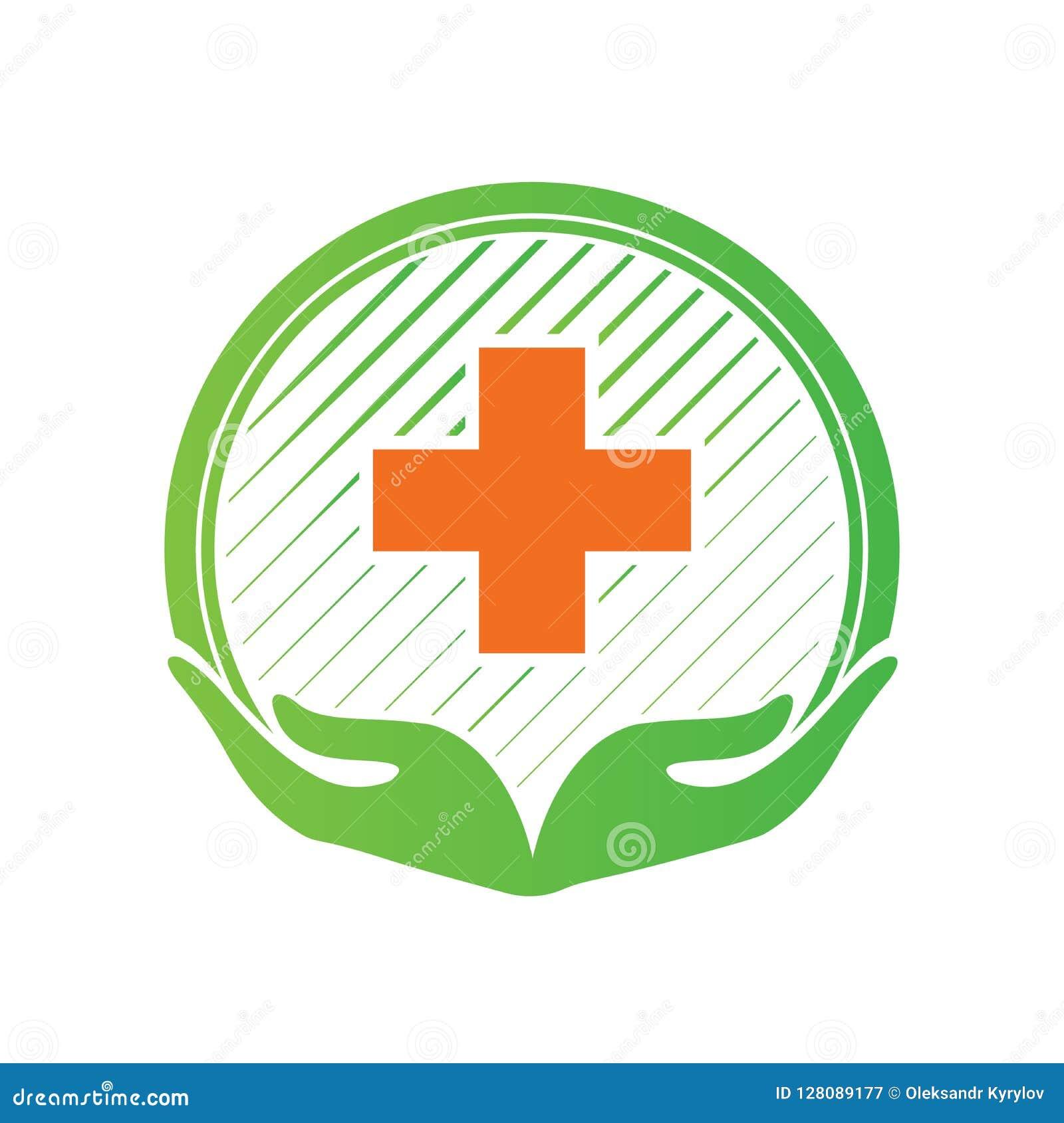 medical pharmacy cross logo design template medic cross icon vector