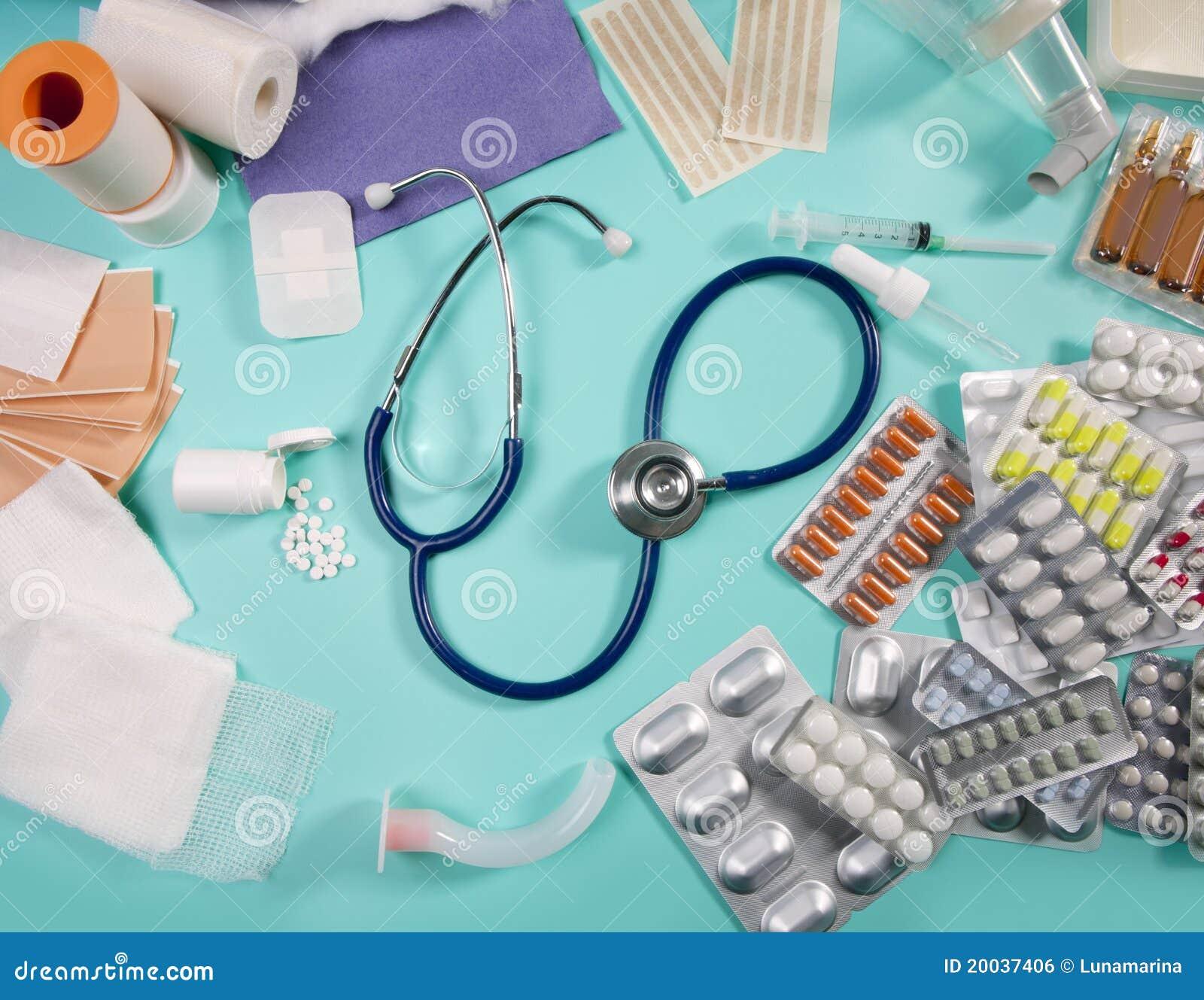 Medical pills pharmaceutical stuff