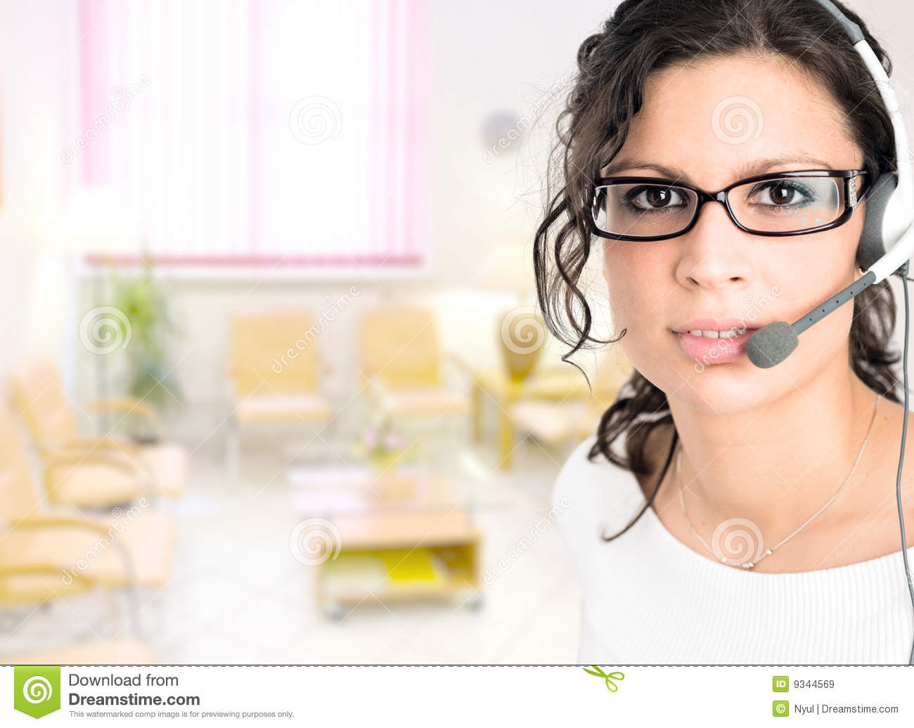 Medical Receptionist Royalty Free Stock Images Image