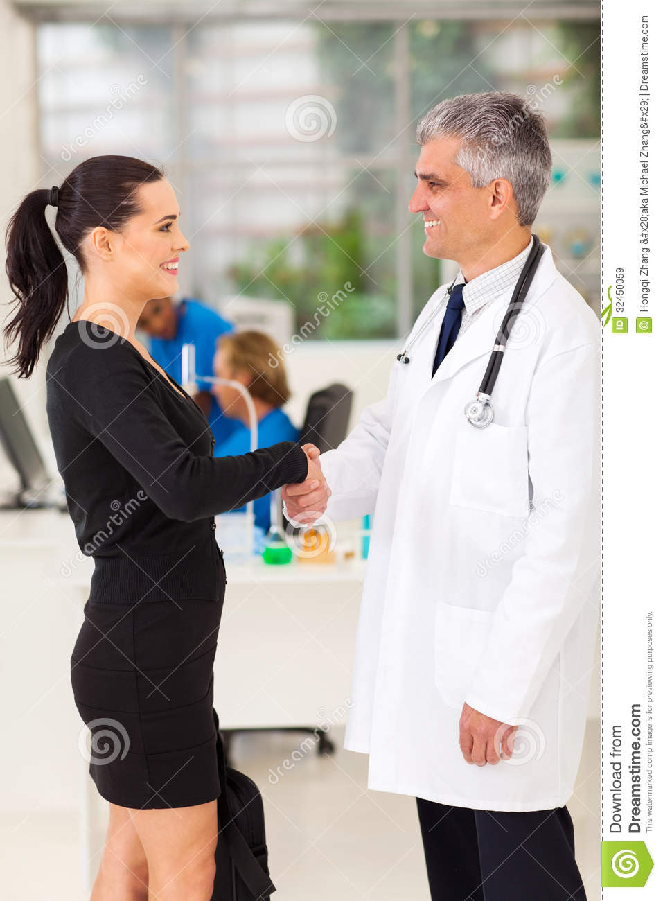 Medical Rep Doctor Royalty Free Stock Images Image 32450059