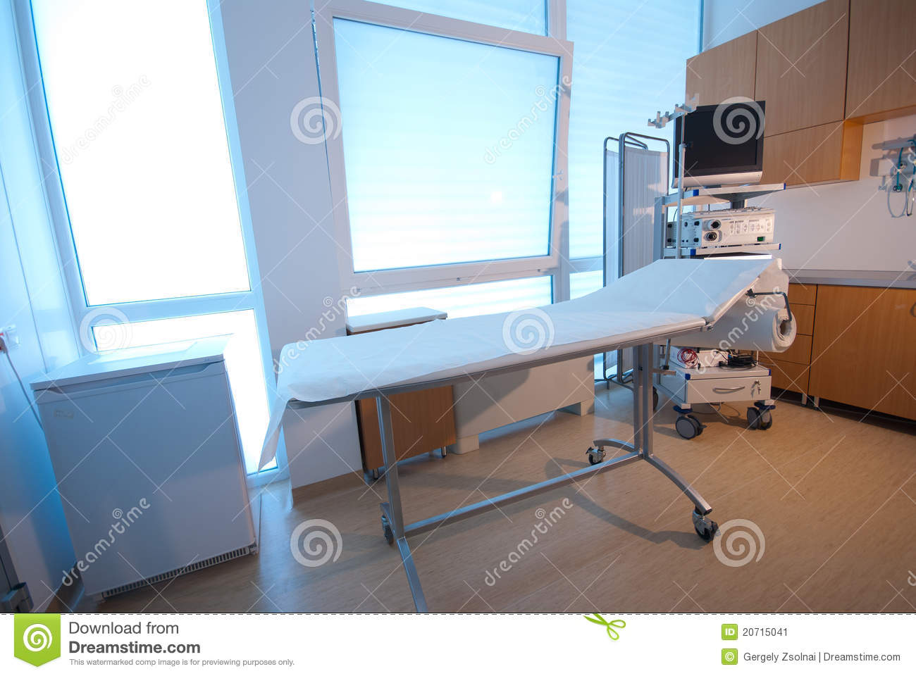 Medical Room V Stock Image Image 20715041