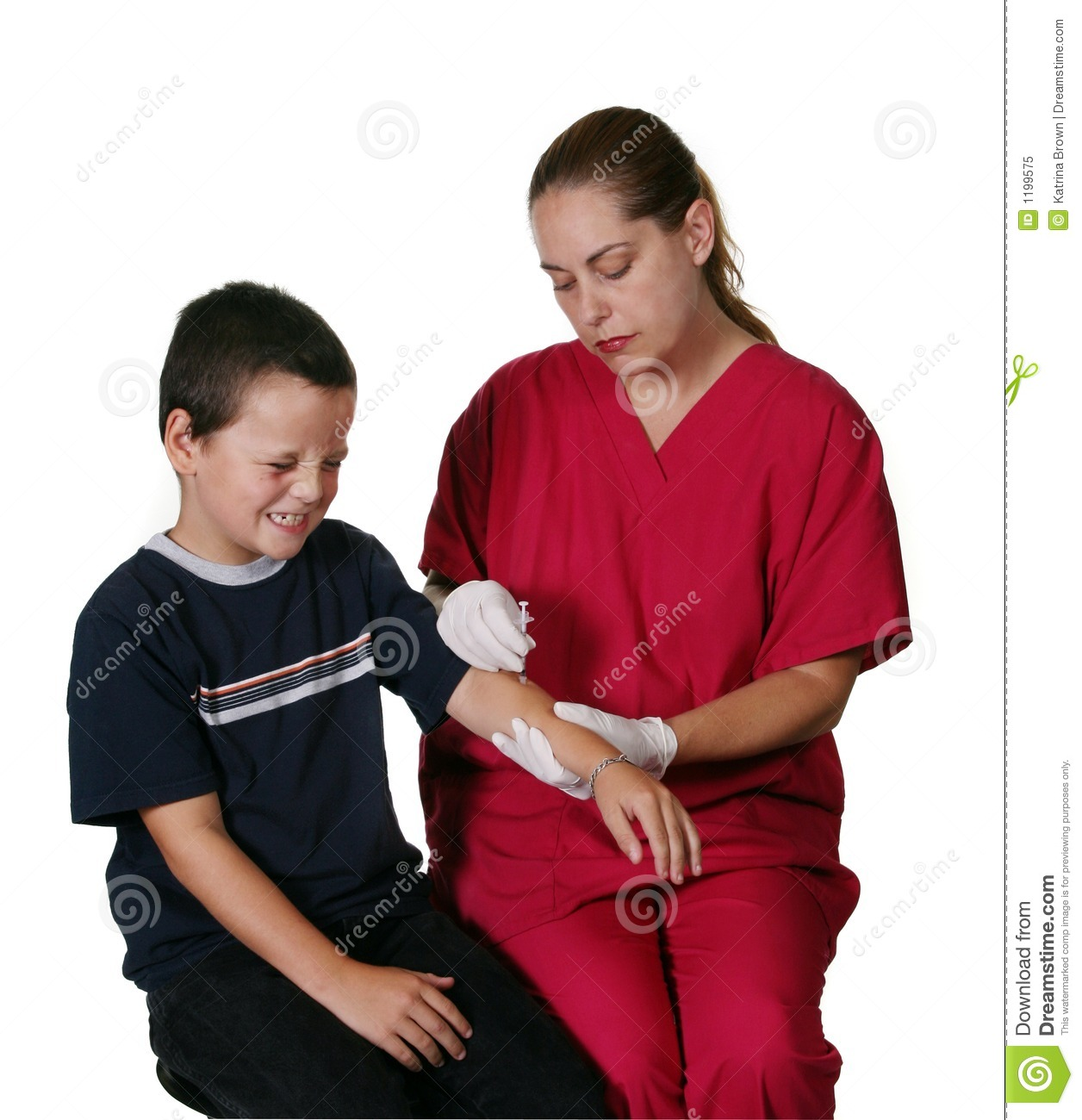 Medical Staff Giving Injection
