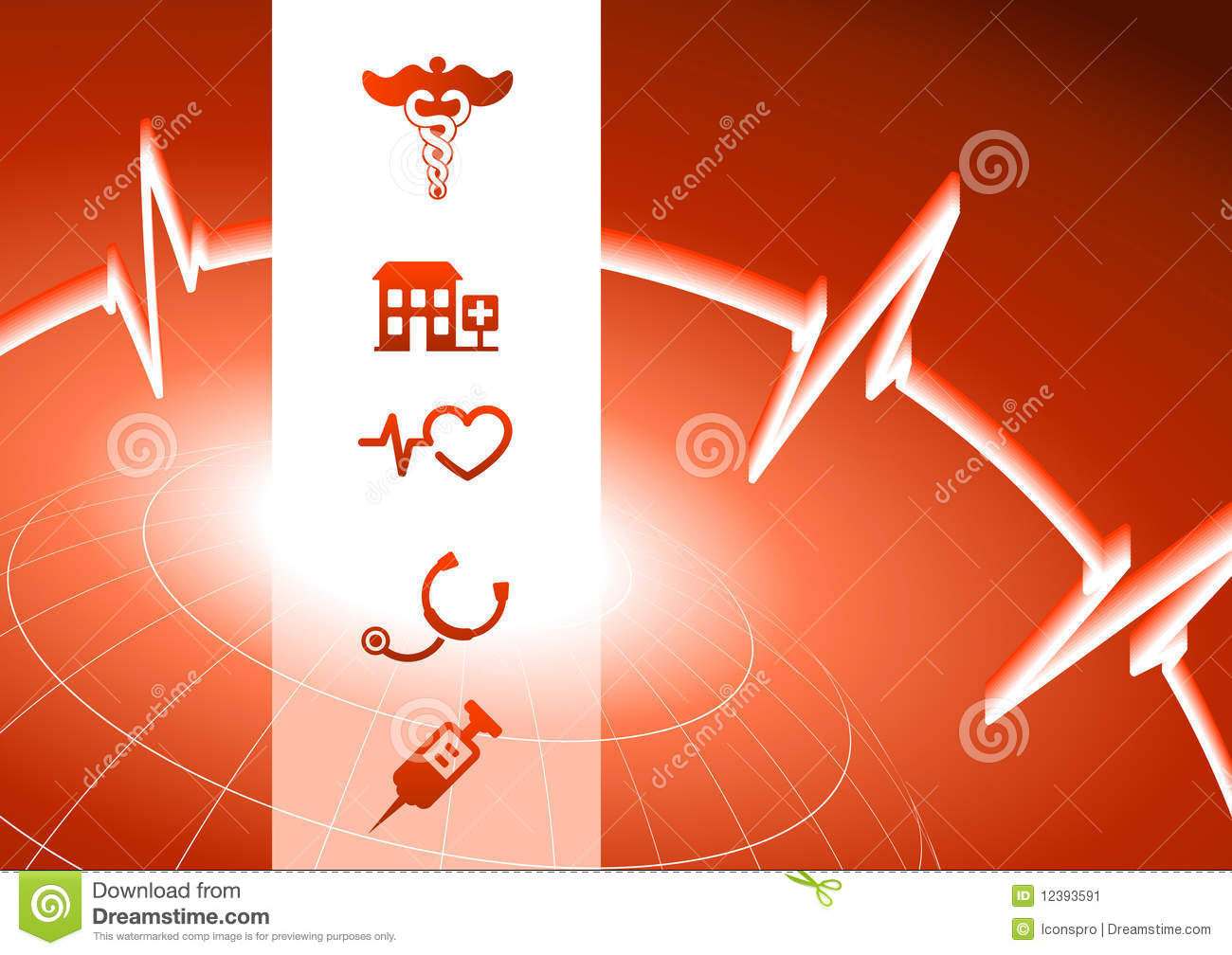 red medical background - photo #8