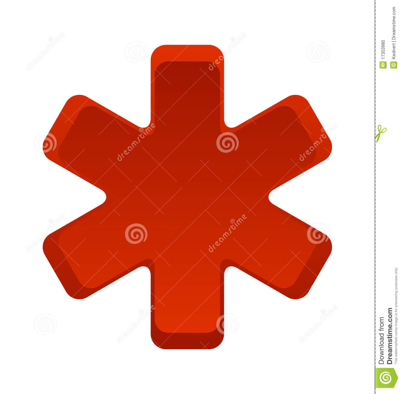 Medical Symbol Red Stock Vector Illustration Of Pharmacy 17353980