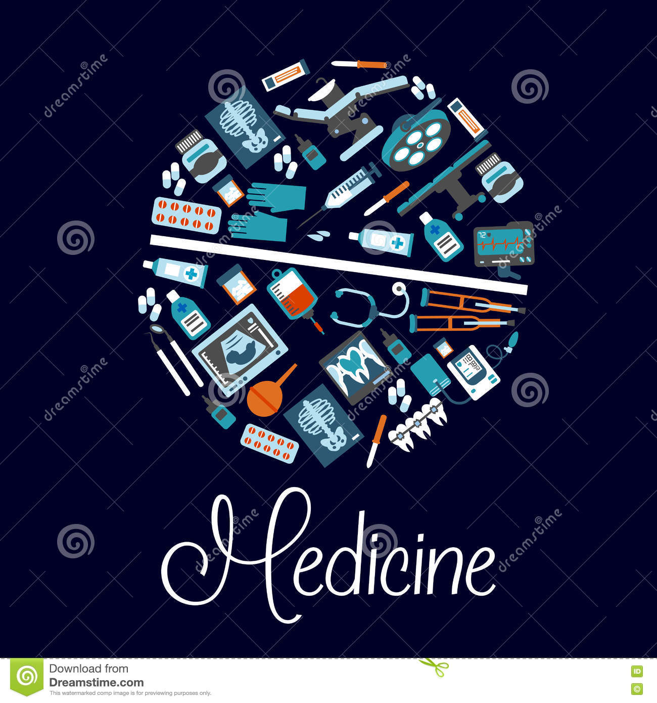 Medical symbols in a shape of pill flat icon stock vector medical symbols in a shape of pill flat icon biocorpaavc Images