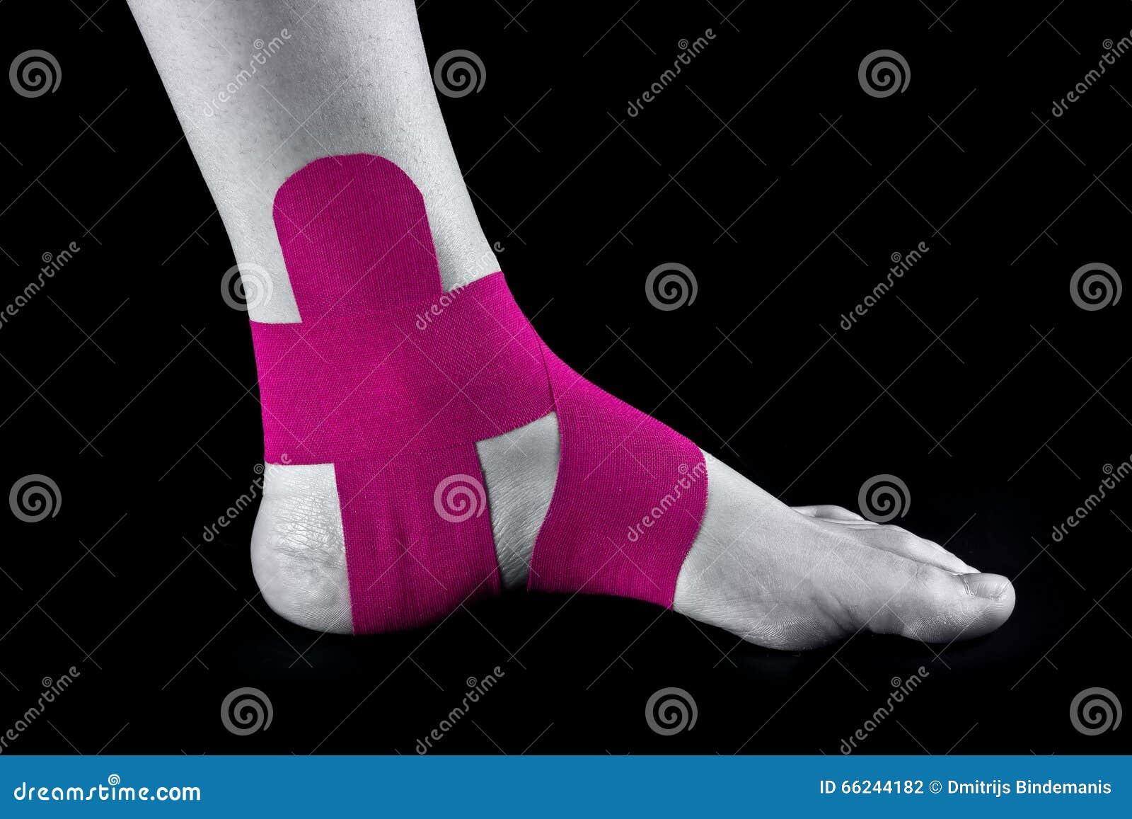 Medical Taping Stock Photo - Image: 66244182